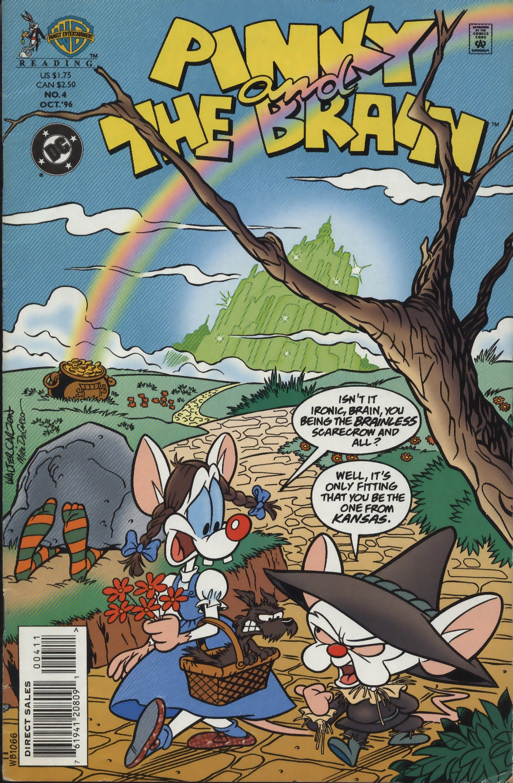 Pinky and The Brain issue 4 - Page 1