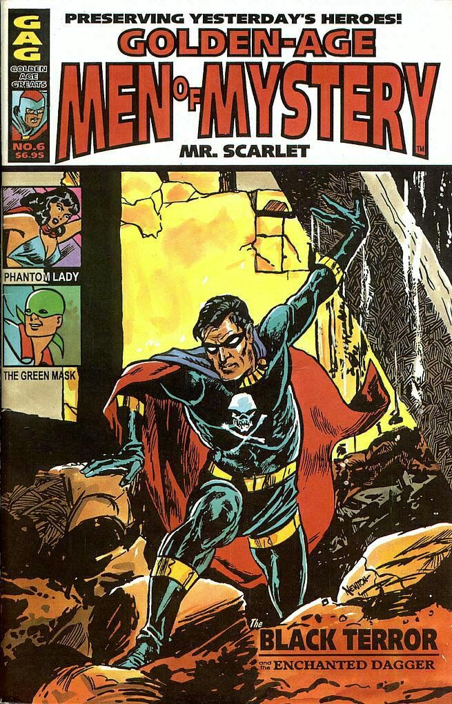 Read online Golden-Age Men of Mystery comic -  Issue #6 - 1