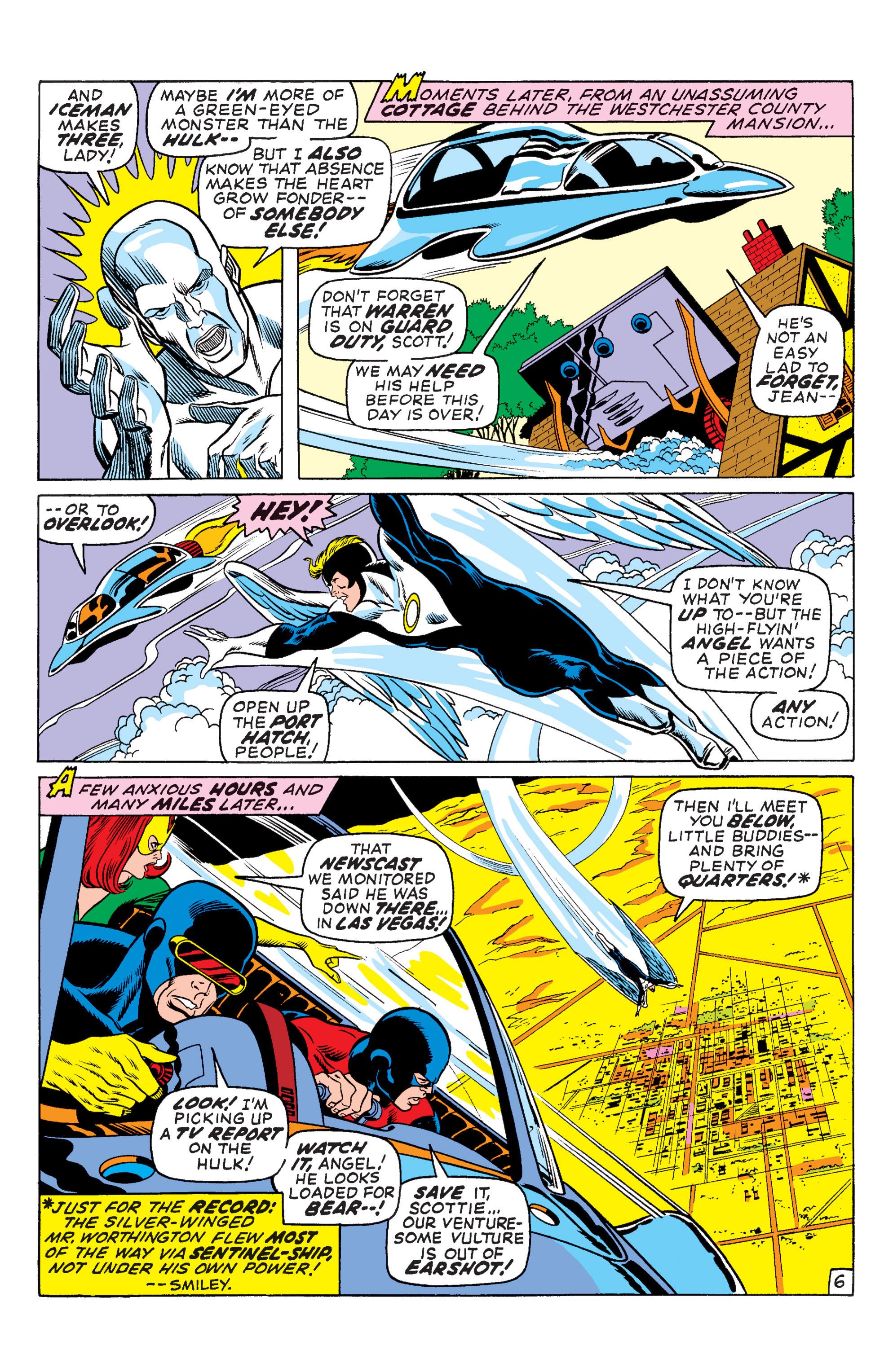Uncanny X-Men (1963) 66 Page 6
