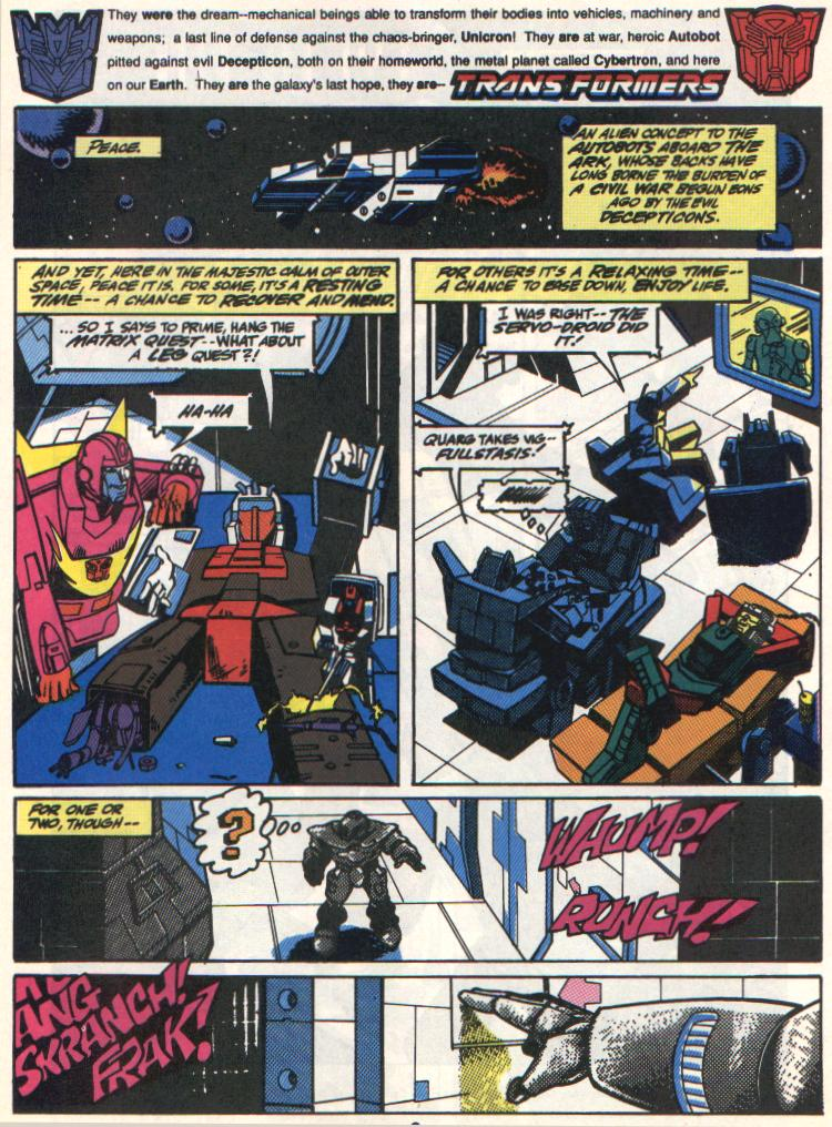 The Transformers (UK) 306 Page 2