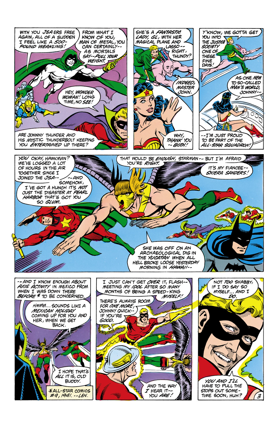 Read online All-Star Squadron comic -  Issue #4 - 4