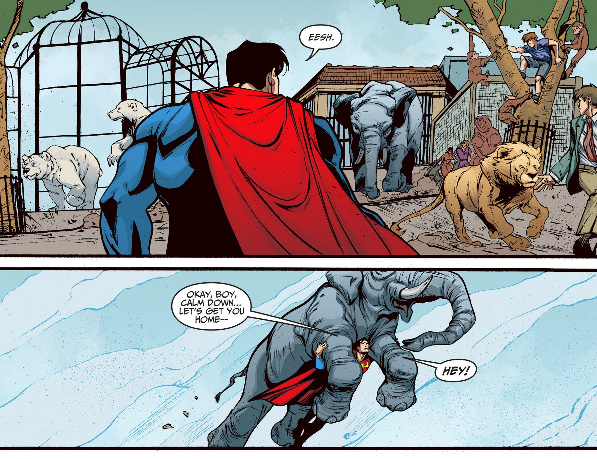 Read online Adventures of Superman [I] comic -  Issue #5 - 7