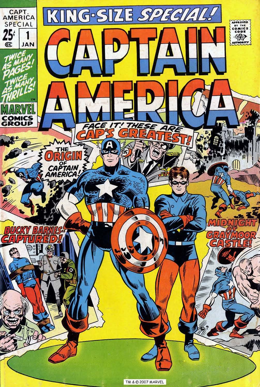Read online Captain America (1968) comic -  Issue # _Annual 1 - 1