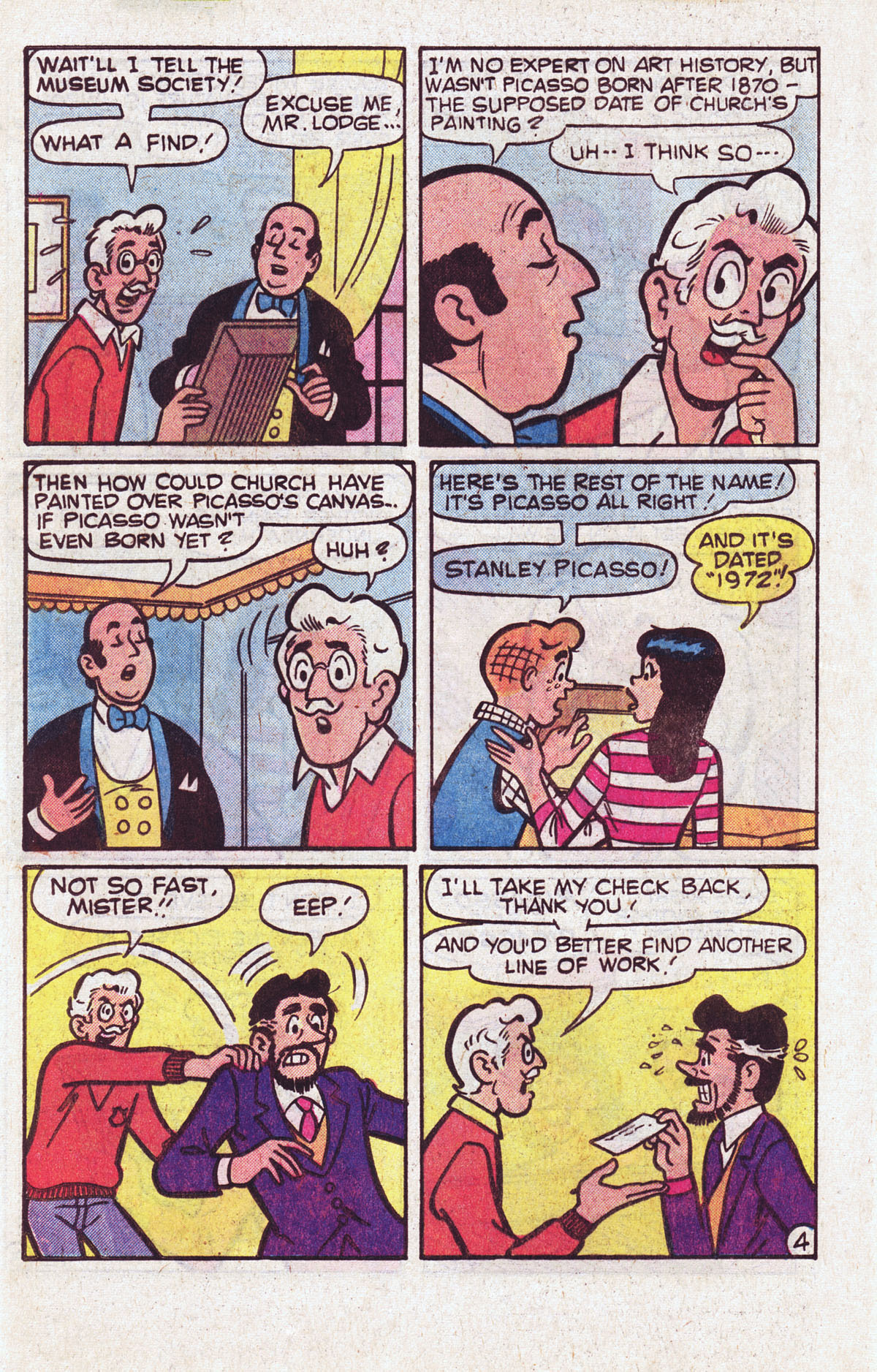 Read online Archie (1960) comic -  Issue #301 - 32
