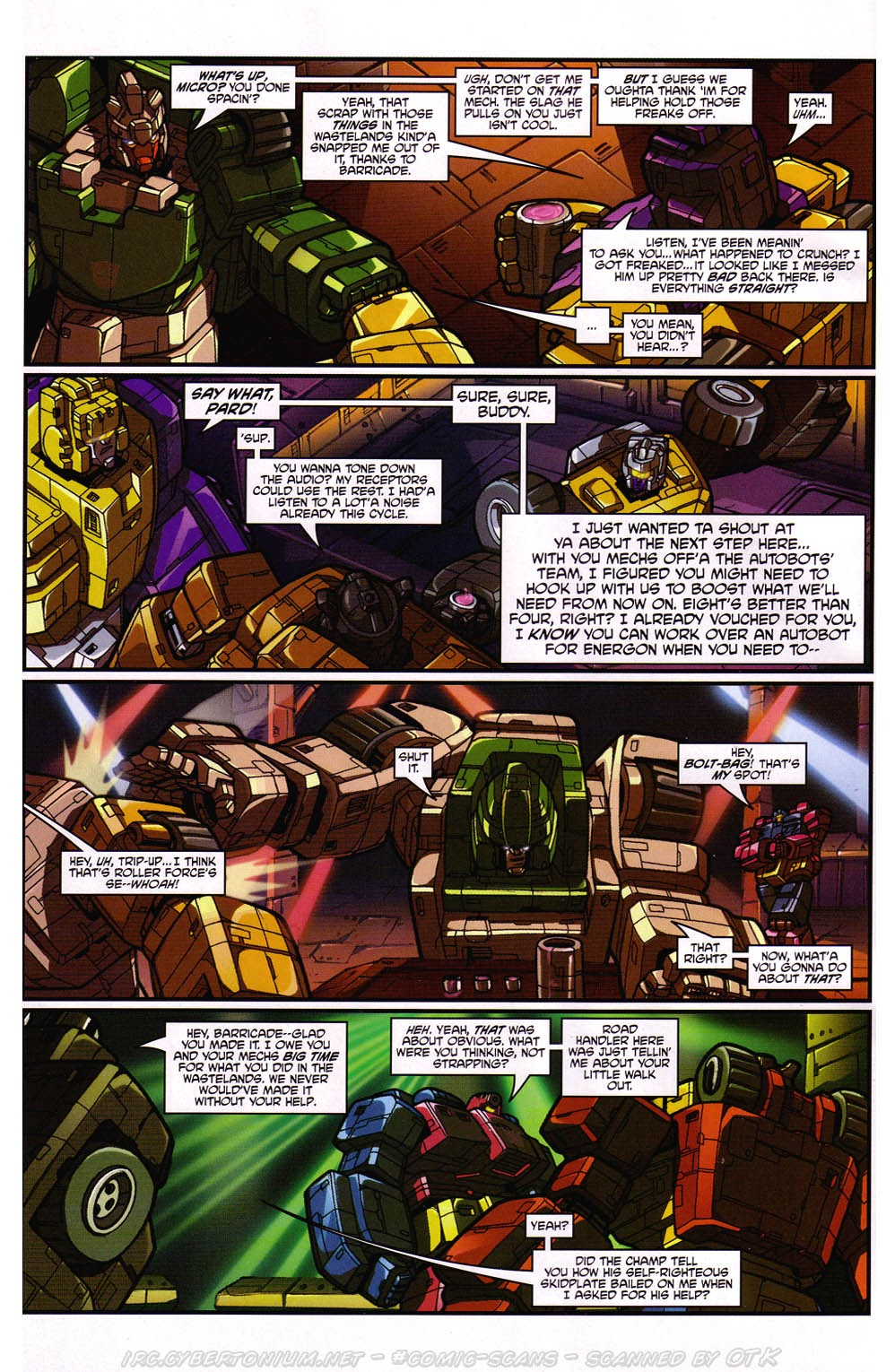 Read online Transformers: Micromasters comic -  Issue #2 - 15