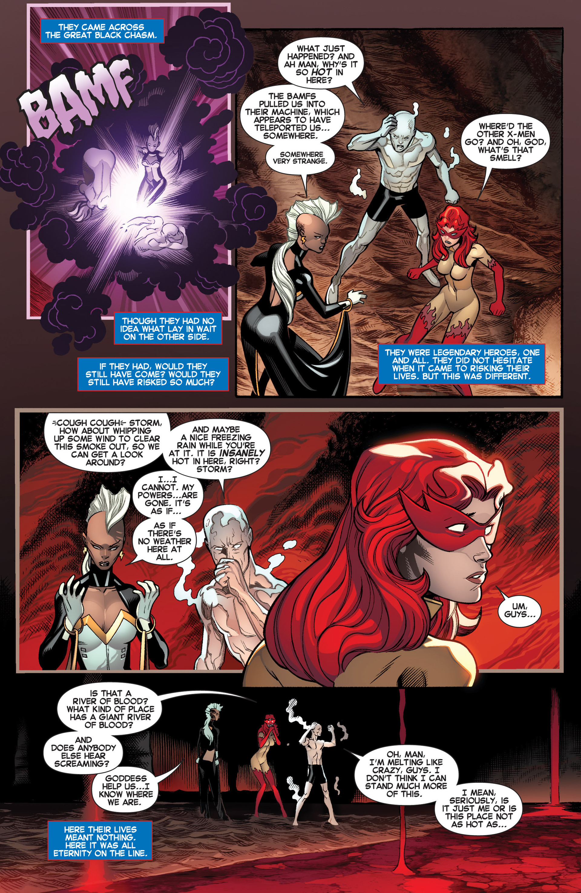 Read online Amazing X-Men (2014) comic -  Issue #2 - 3