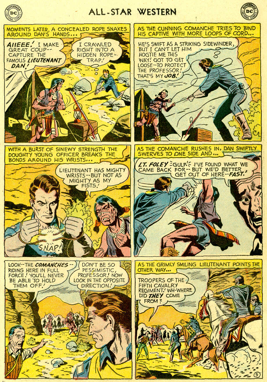 Read online All-Star Western (1951) comic -  Issue #83 - 23