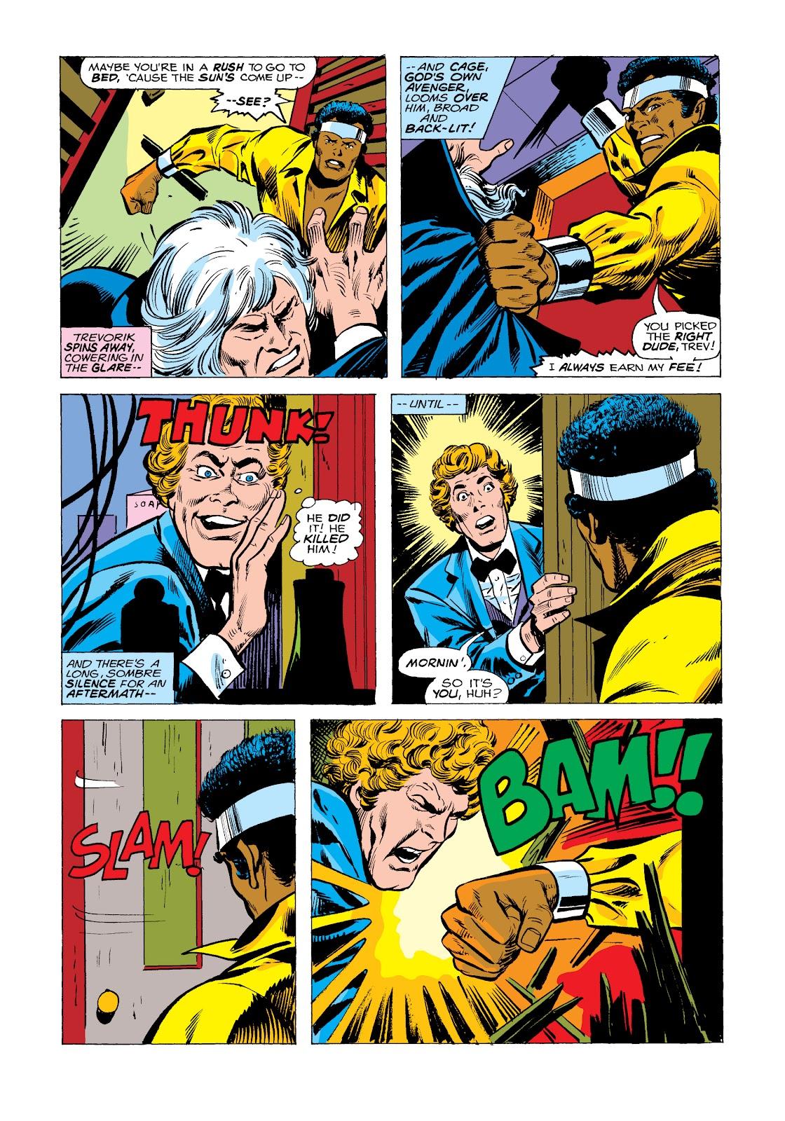 Read online Marvel Masterworks: Luke Cage, Power Man comic -  Issue # TPB 2 (Part 2) - 98