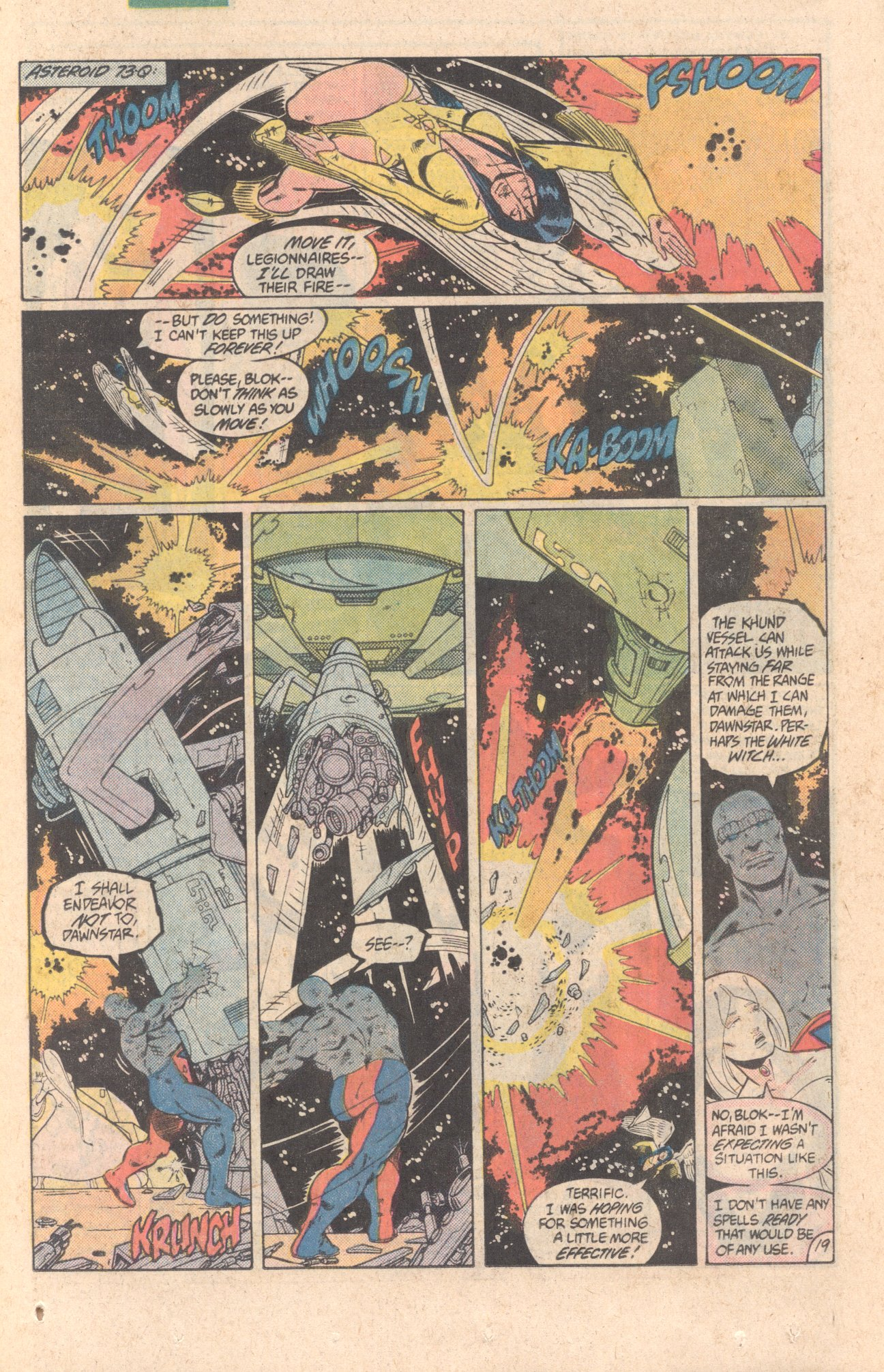 Legion of Super-Heroes (1980) 299 Page 19