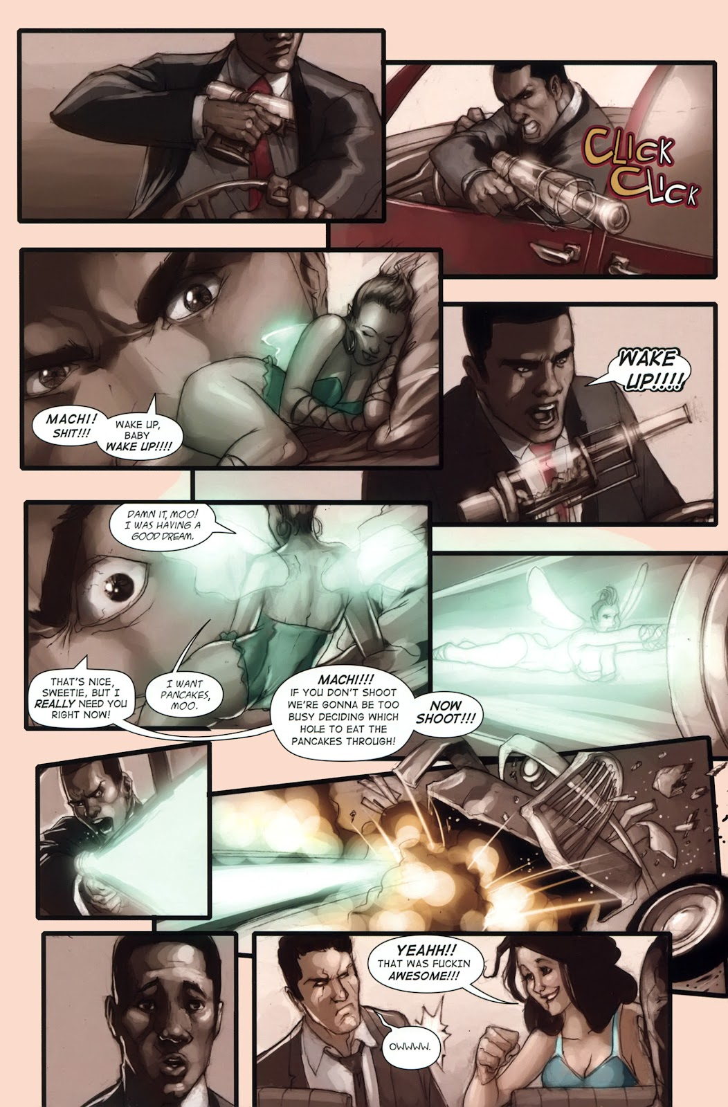 Read online Vescell comic -  Issue #1 - 11