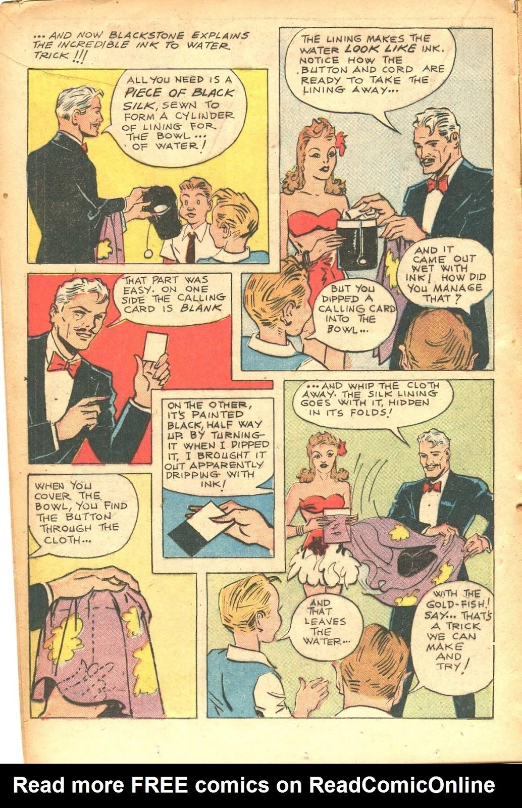 Read online Super-Magician Comics comic -  Issue #35 - 18