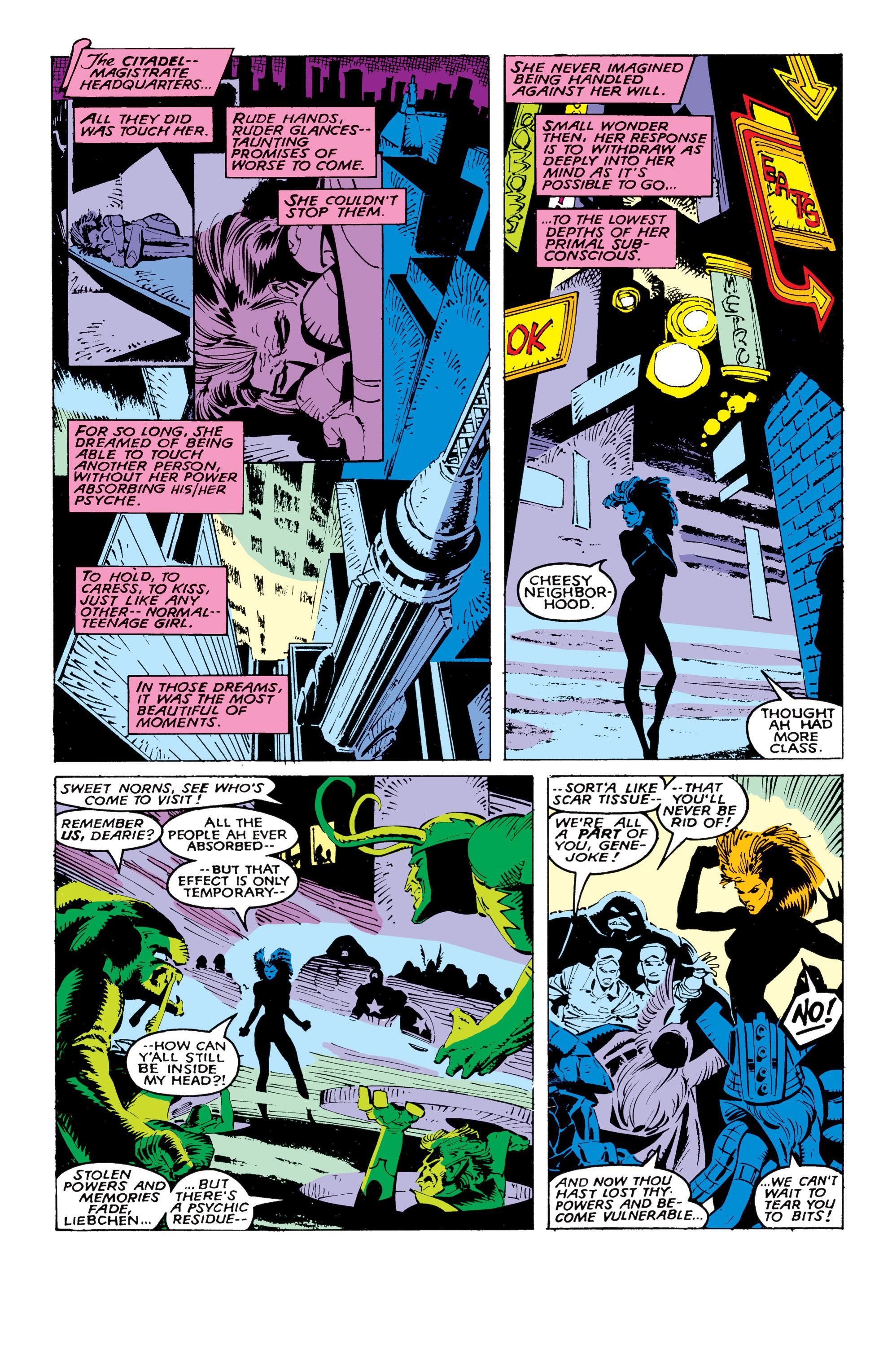 Read online Uncanny X-Men (1963) comic -  Issue #236 - 16