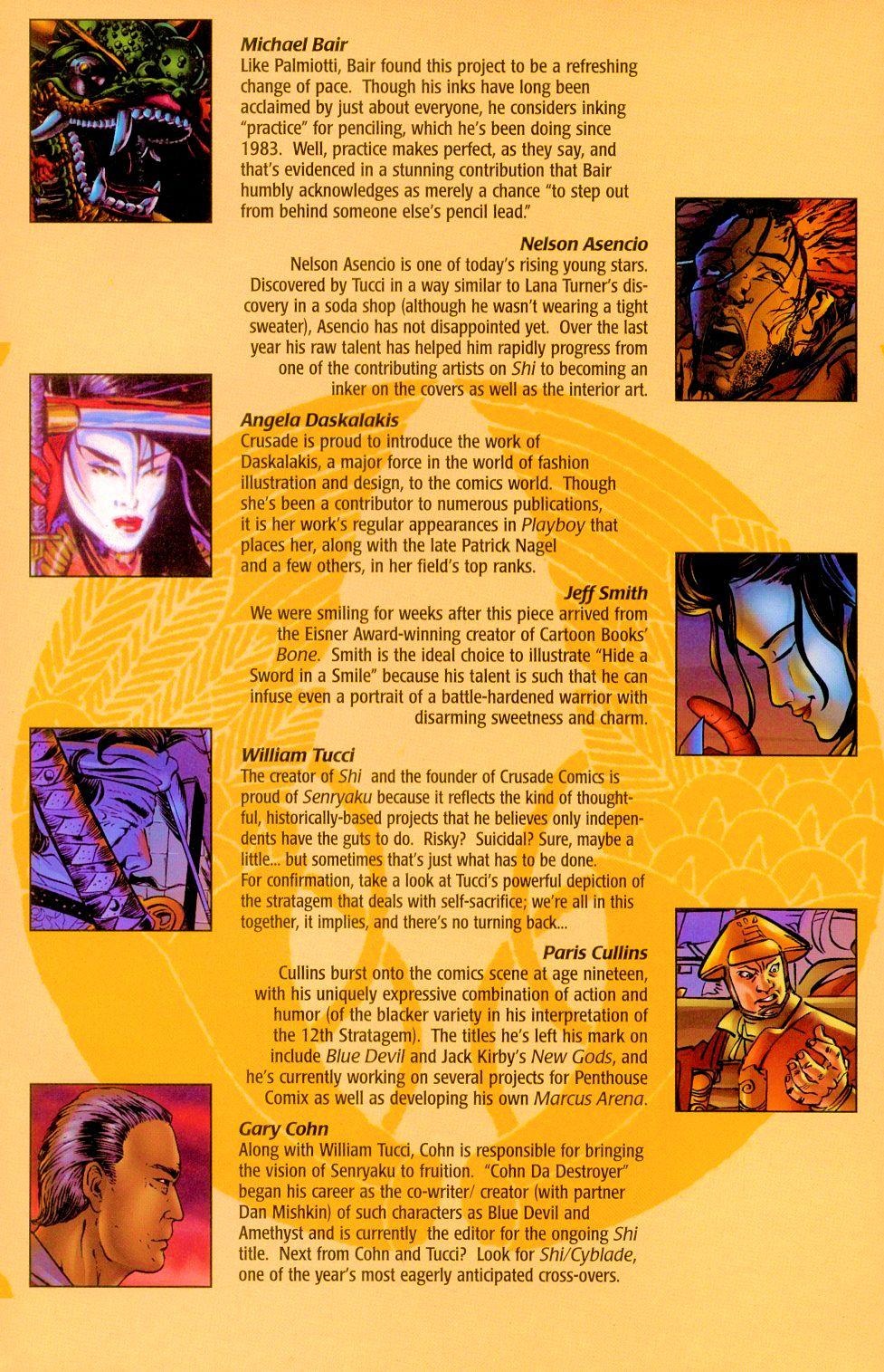 Read online Shi: Senryaku comic -  Issue #1 - 19
