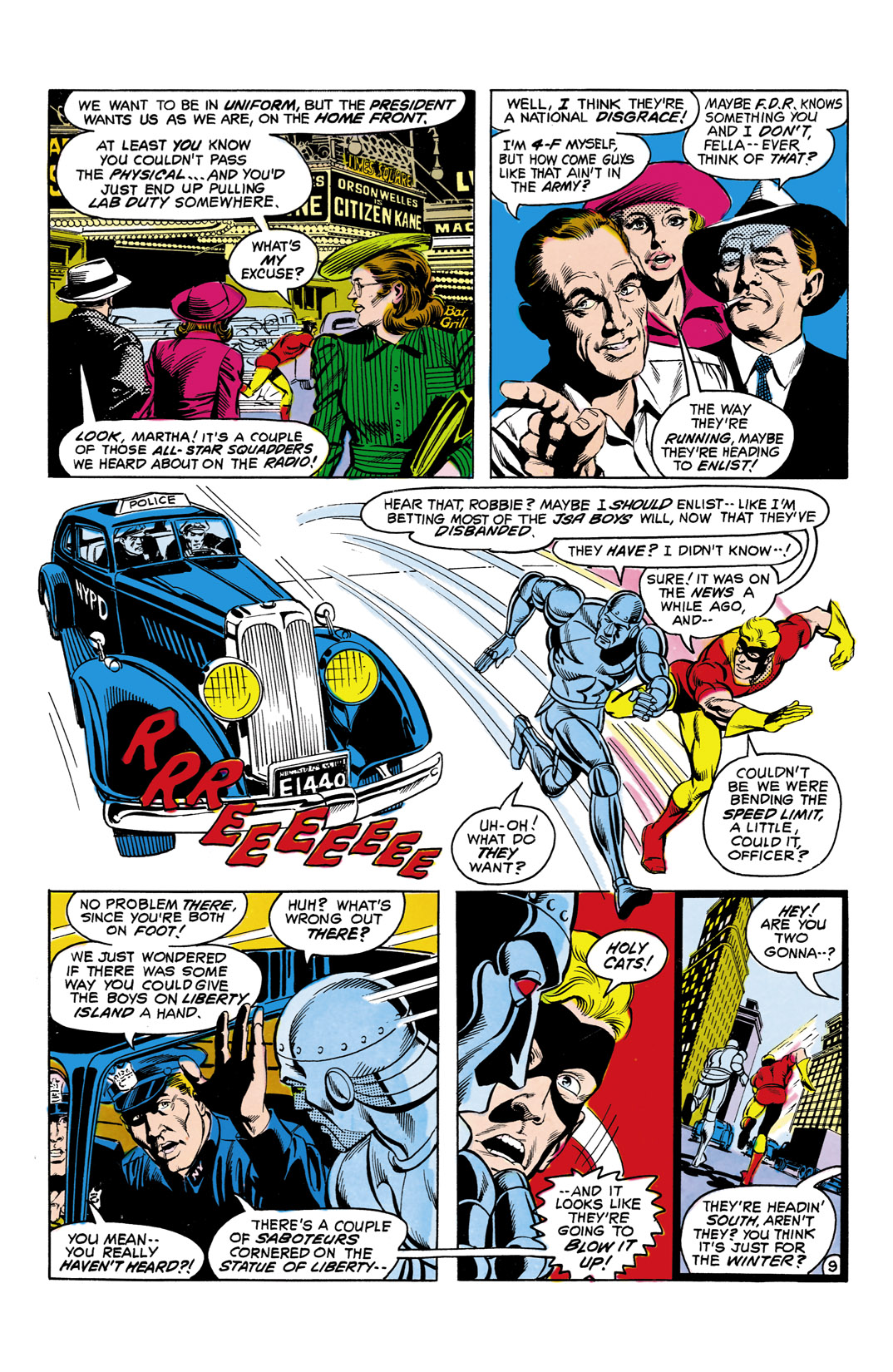Read online All-Star Squadron comic -  Issue #5 - 10