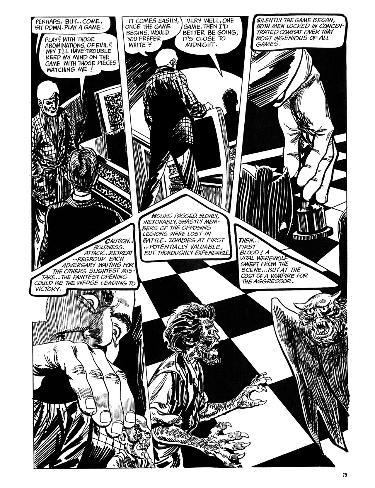 Read online Eerie Archives comic -  Issue # TPB 5 - 80