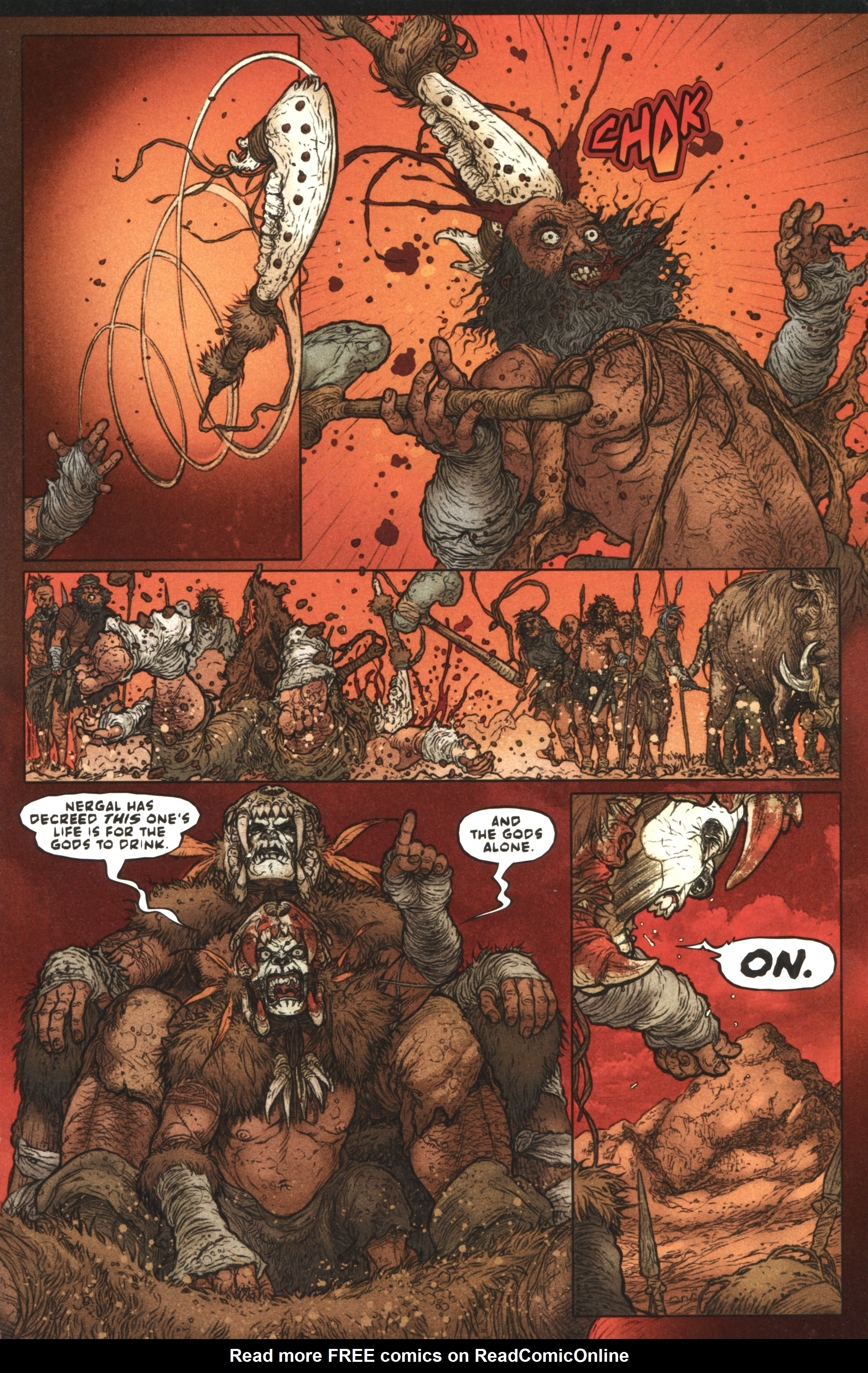 Read online Book of Death: Legends of the Geomancer comic -  Issue #1 - 9