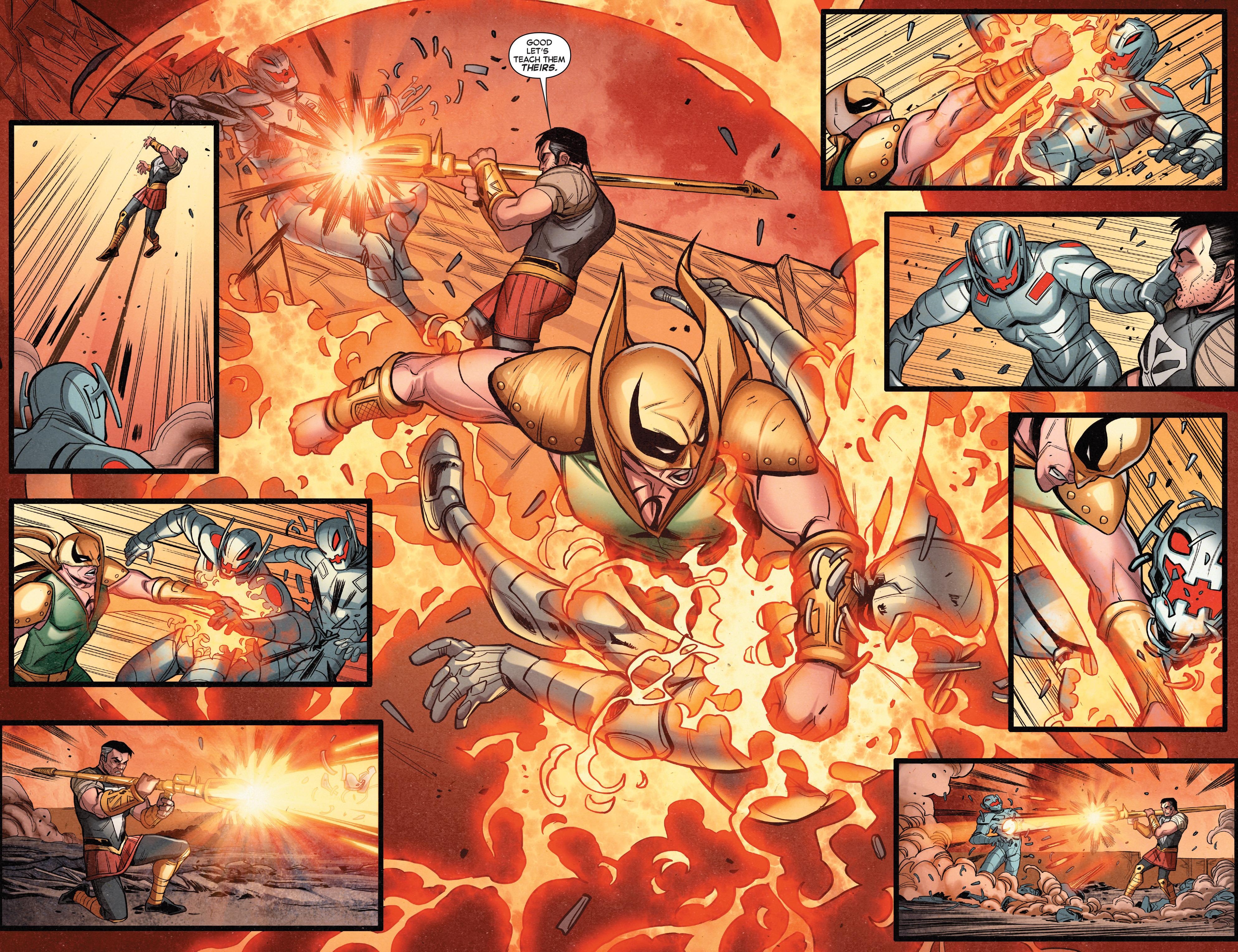 Read online Secret Wars Journal comic -  Issue #4 - 10