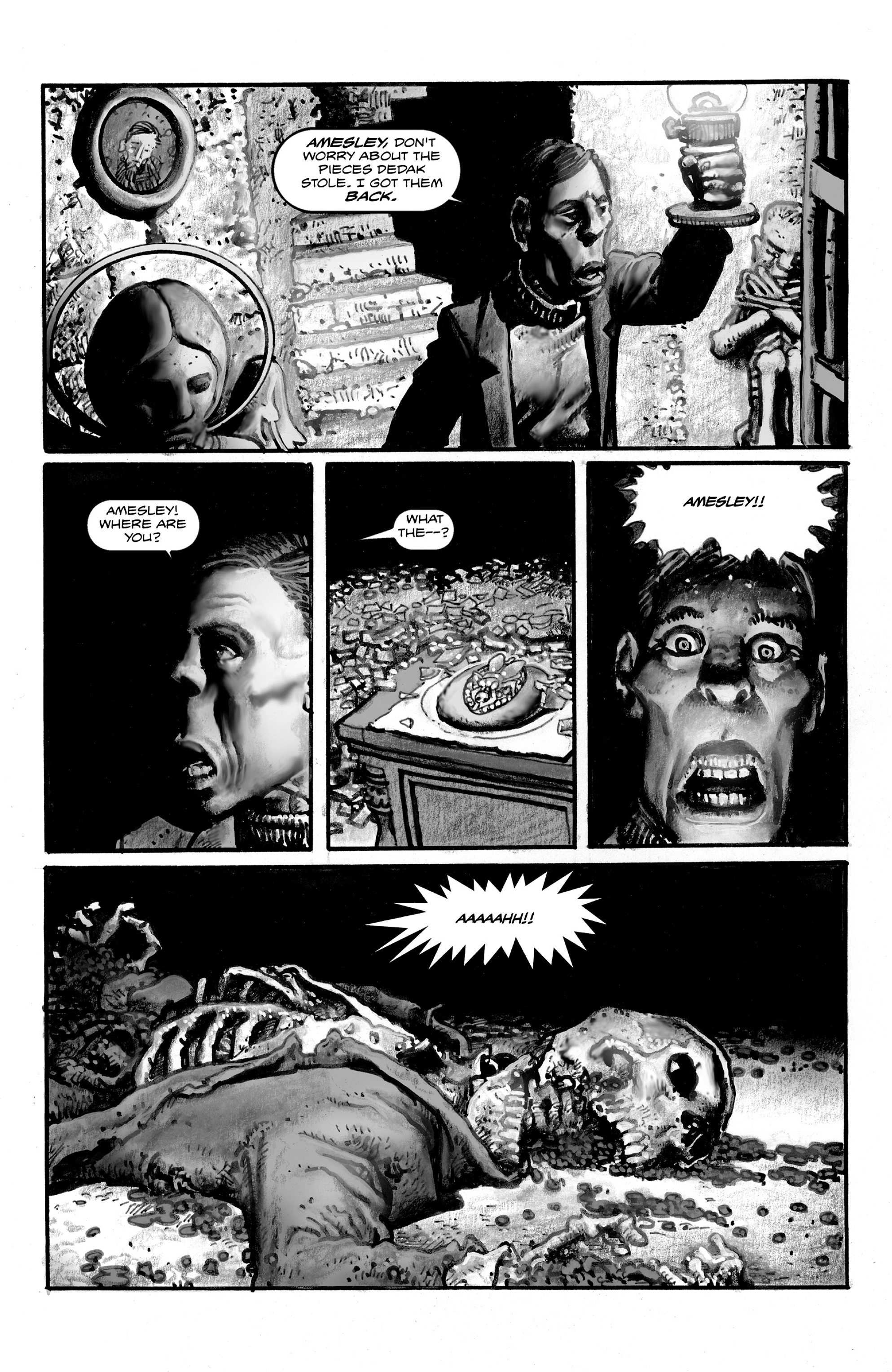 Read online Shadows on the Grave comic -  Issue #3 - 15