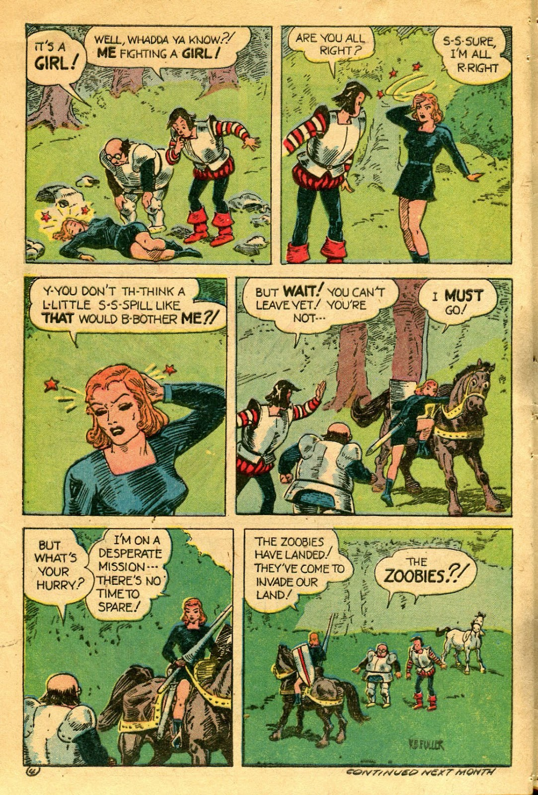 Read online Famous Funnies comic -  Issue #122 - 44