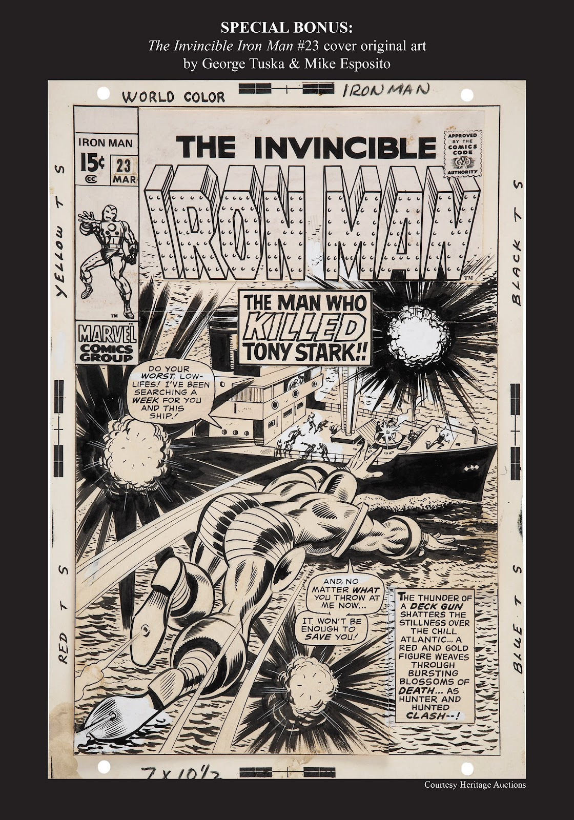 Read online Marvel Masterworks: The Invincible Iron Man comic -  Issue # TPB 6 (Part 3) - 36