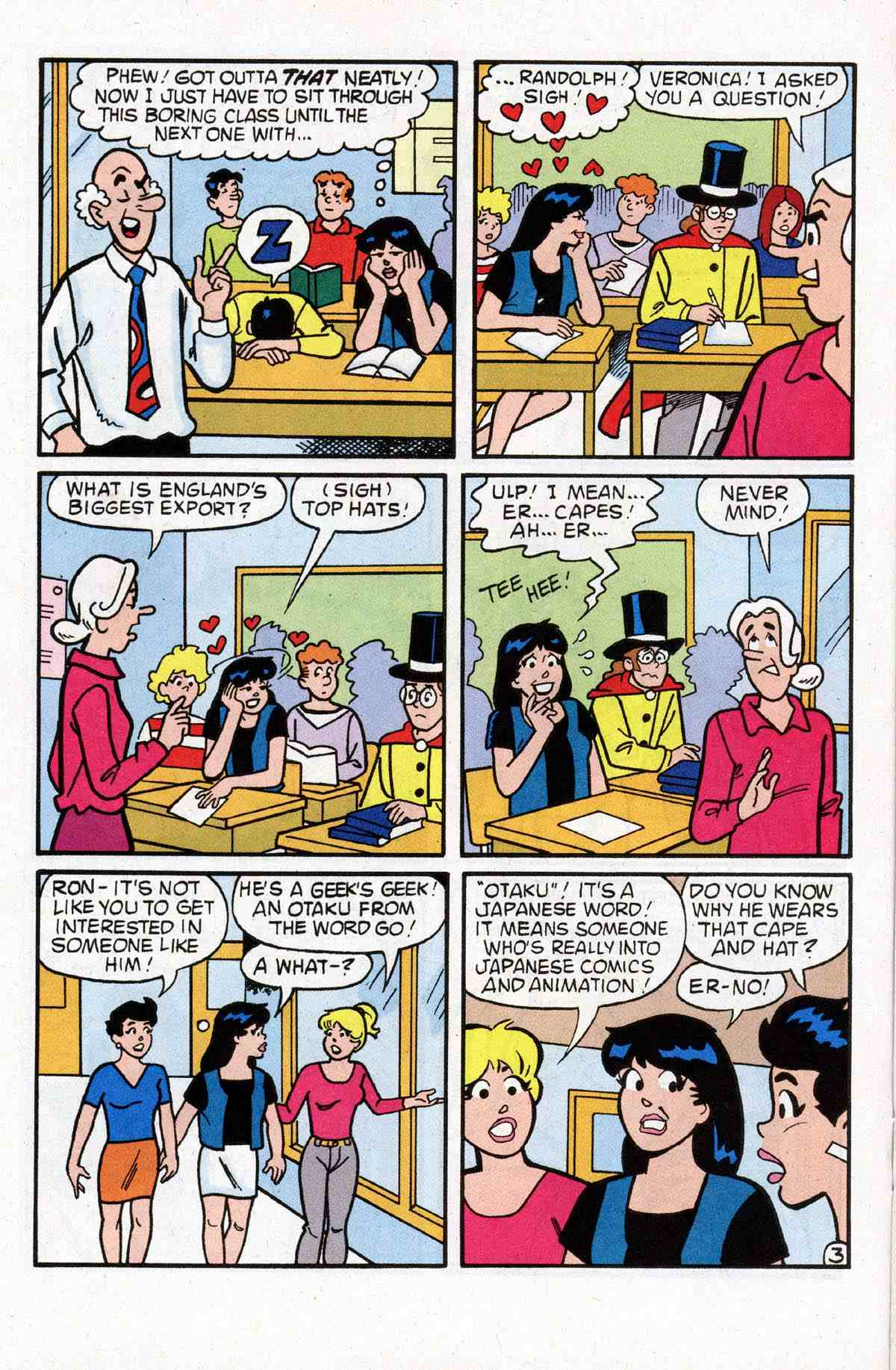 Read online Archie's Girls Betty and Veronica comic -  Issue #180 - 12
