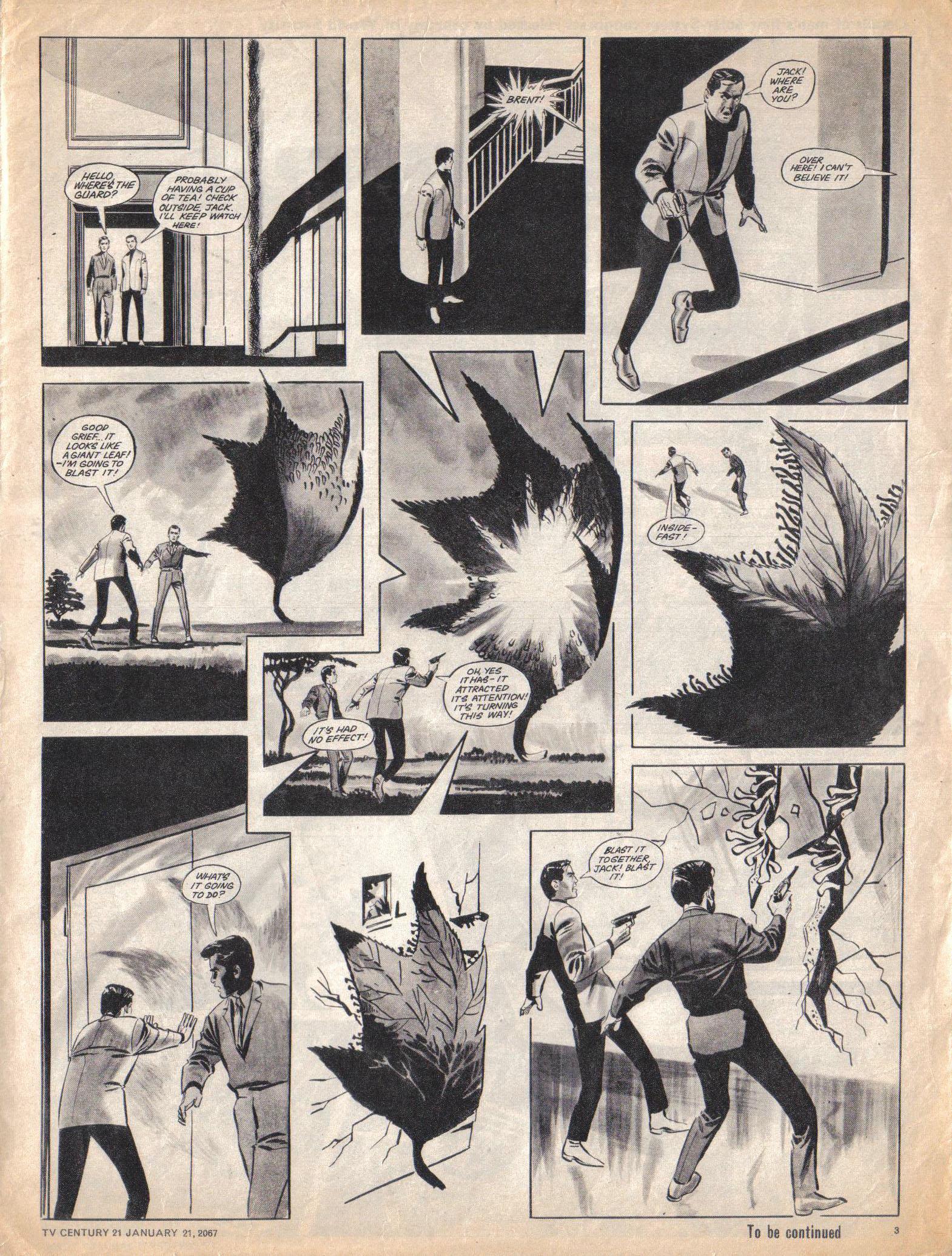 Read online TV Century 21 (TV 21) comic -  Issue #105 - 3