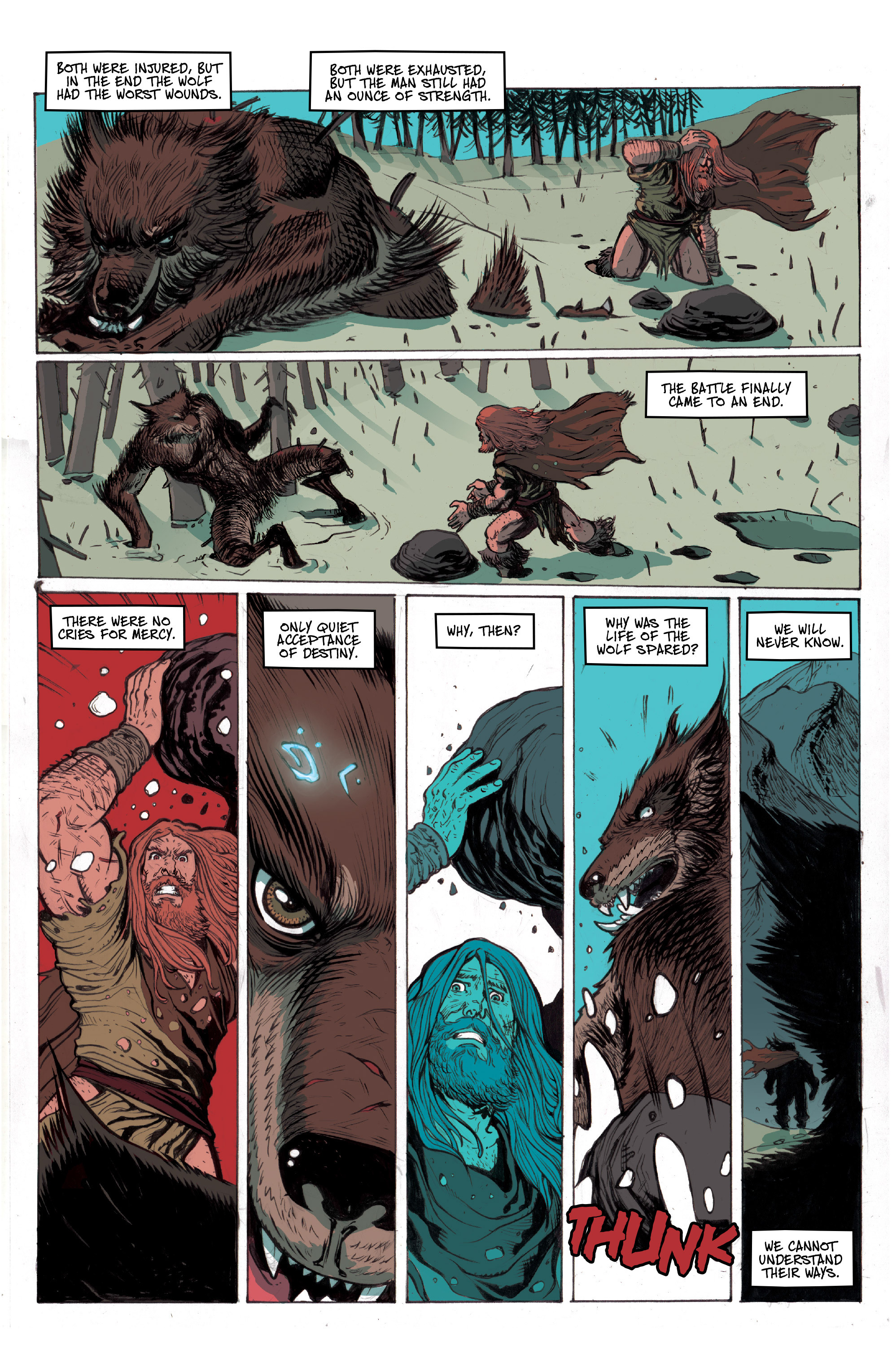 Read online Ghost Wolf comic -  Issue #1 - 4