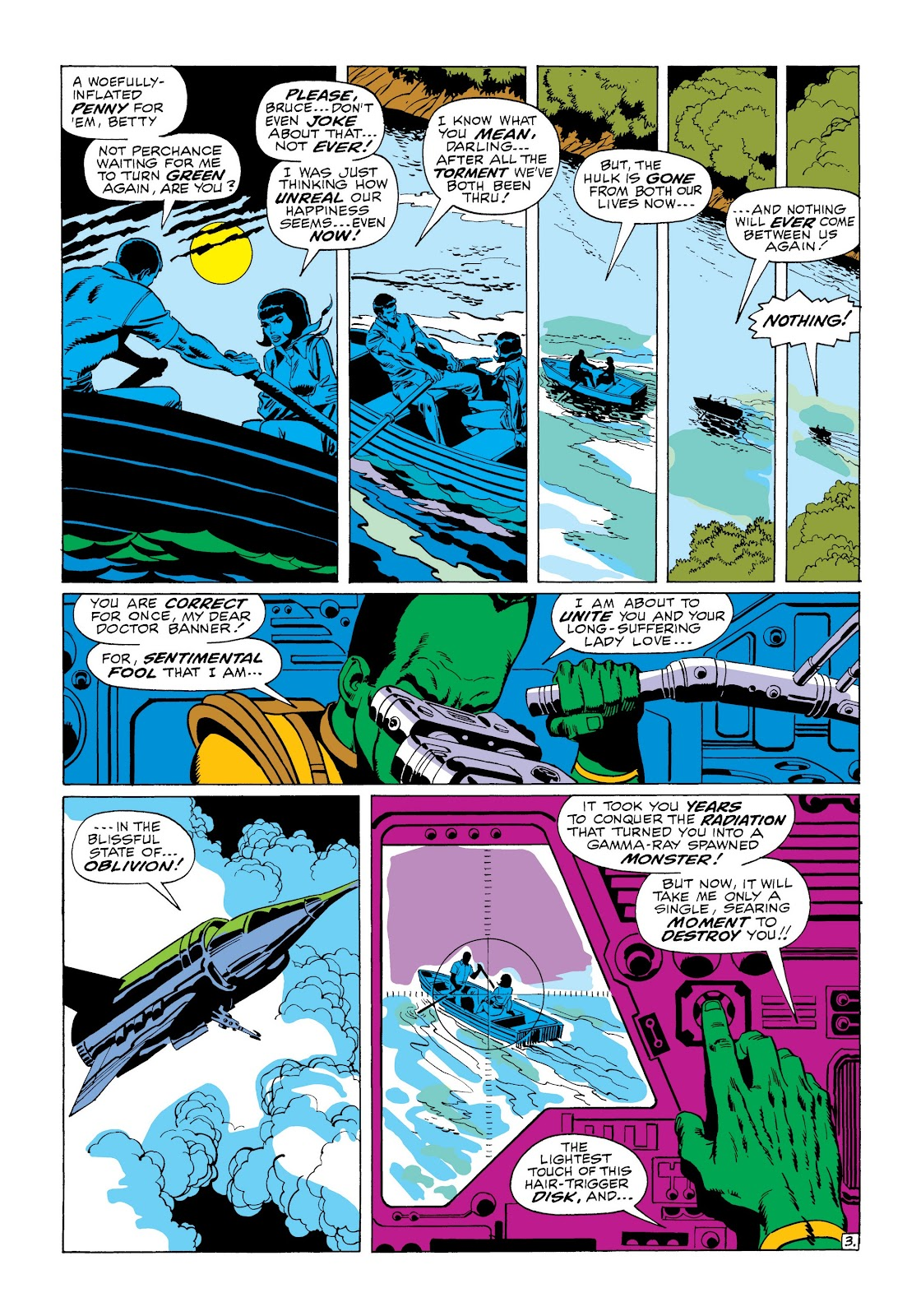 Read online Marvel Masterworks: The Incredible Hulk comic -  Issue # TPB 6 (Part 1) - 54