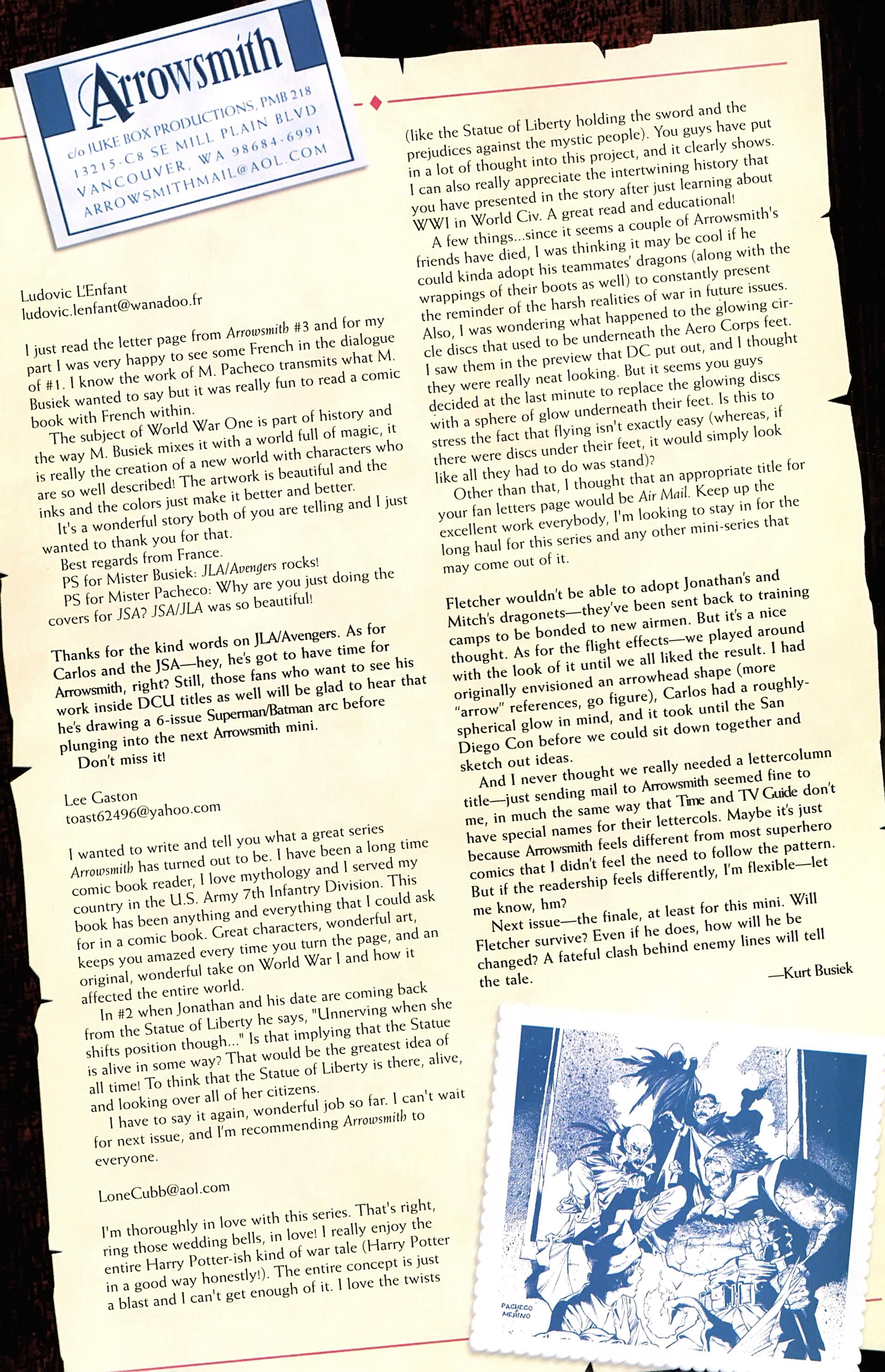 Read online Arrowsmith comic -  Issue #5 - 23