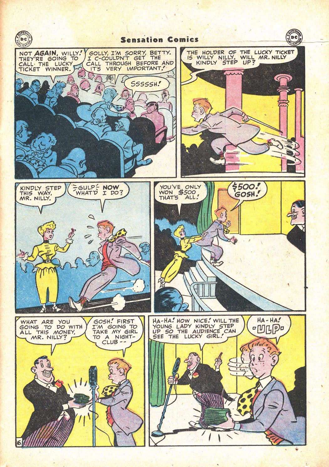 Read online Sensation (Mystery) Comics comic -  Issue #71 - 37