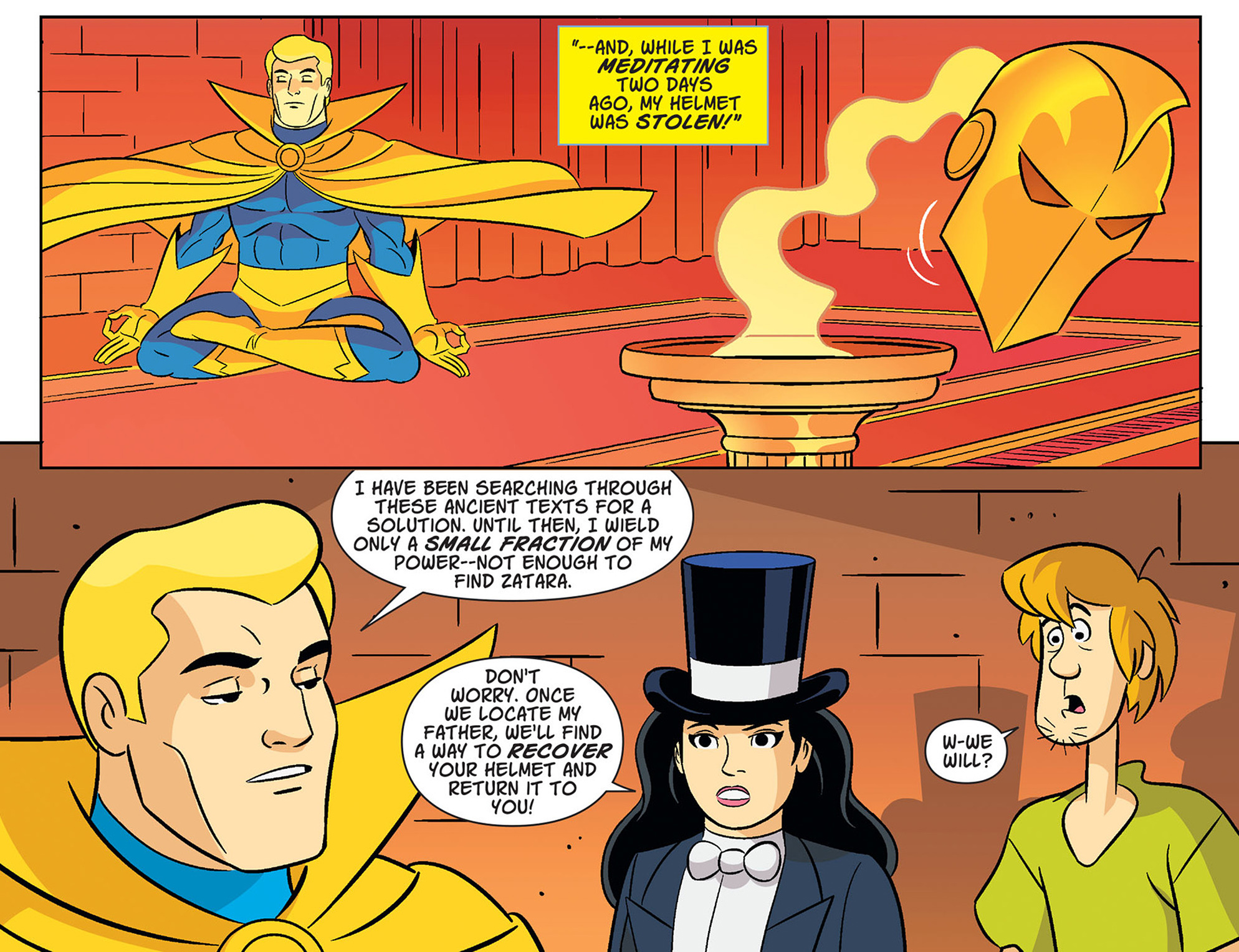 Read online Scooby-Doo! Team-Up comic -  Issue #37 - 11