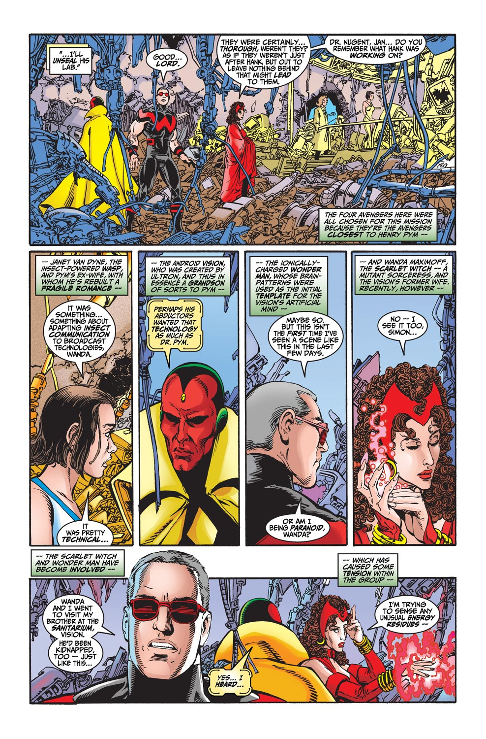Read online Avengers (1998) comic -  Issue #20 - 10