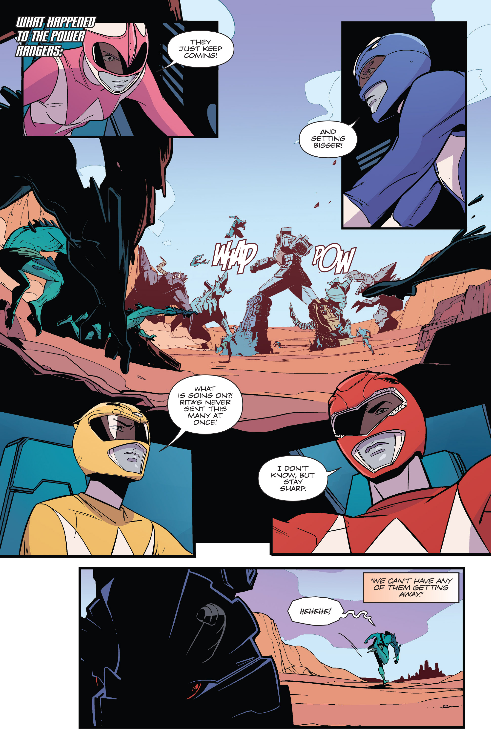Read online Mighty Morphin Power Rangers comic -  Issue # _Annual 2017 - 40