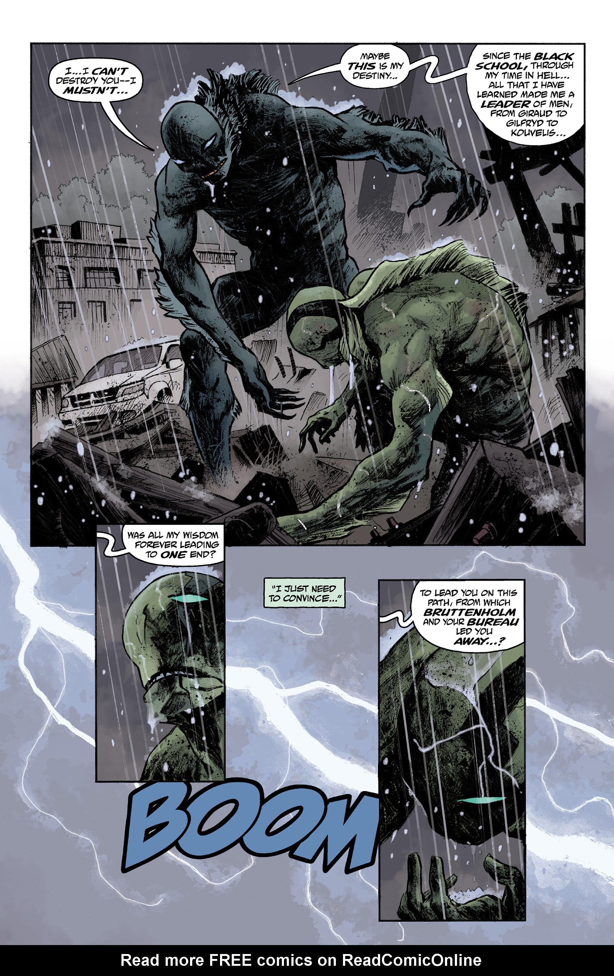 Read online Abe Sapien comic -  Issue #36 - 16