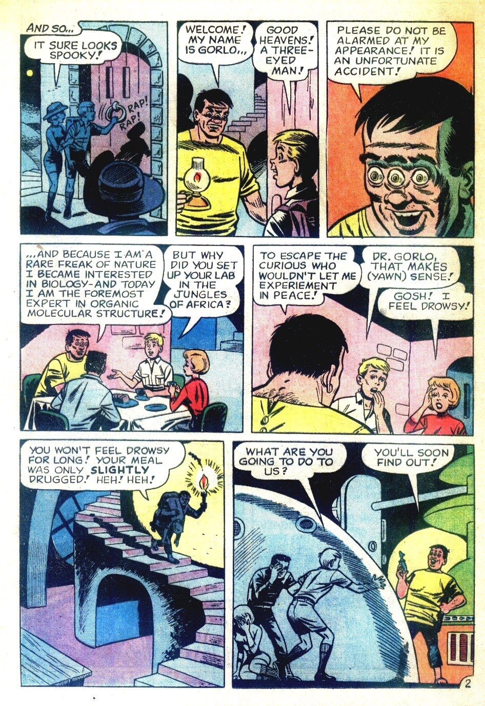 Read online Tales Calculated to Drive You Bats comic -  Issue #7 - 4