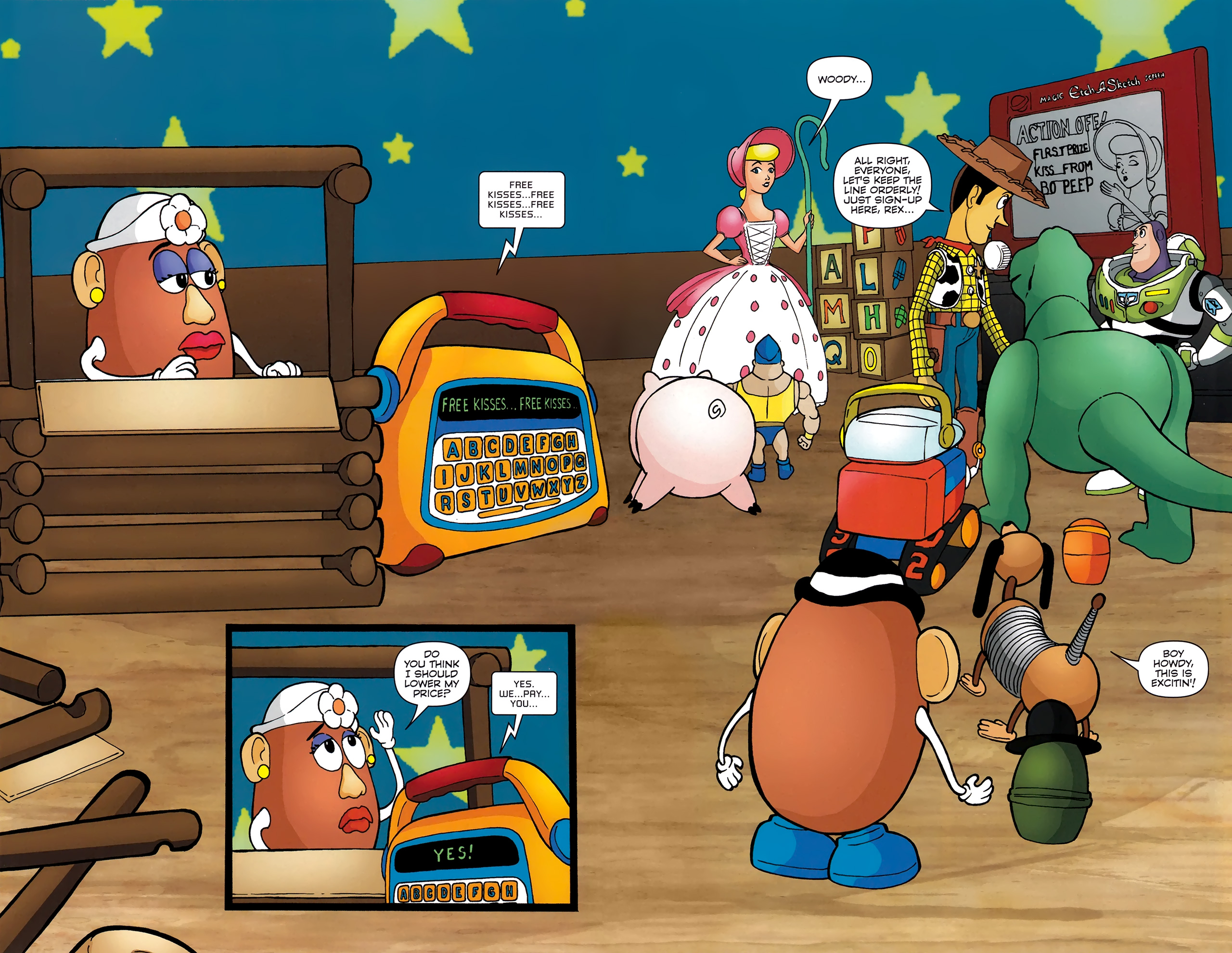 Read online Toy Story (2009) comic -  Issue #4 - 12