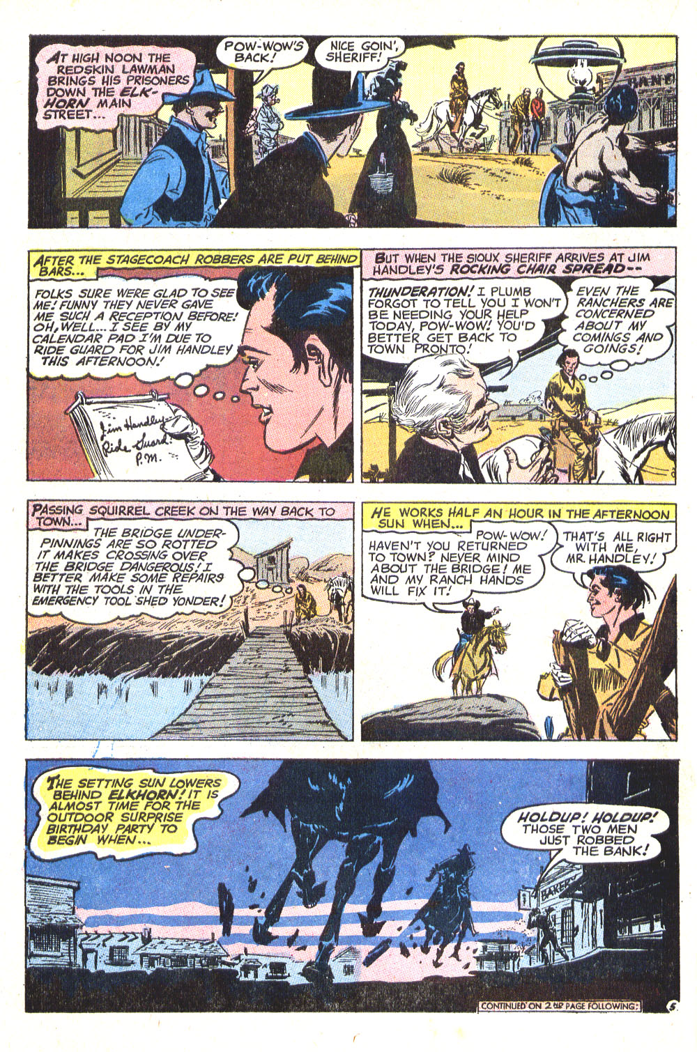 Read online All-Star Western (1970) comic -  Issue #8 - 32