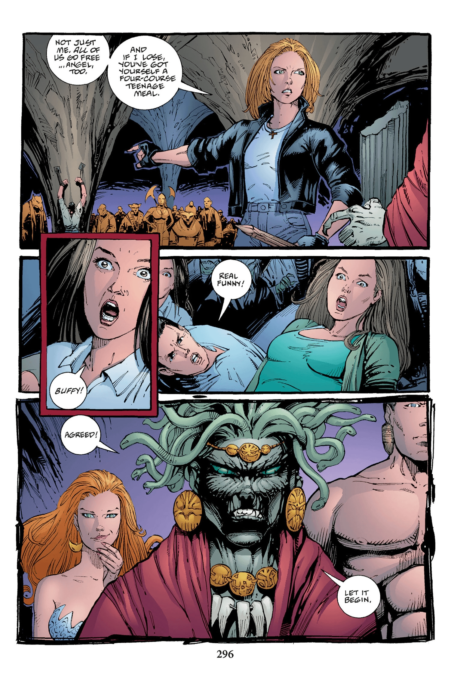 Read online Buffy the Vampire Slayer: Omnibus comic -  Issue # TPB 2 - 288