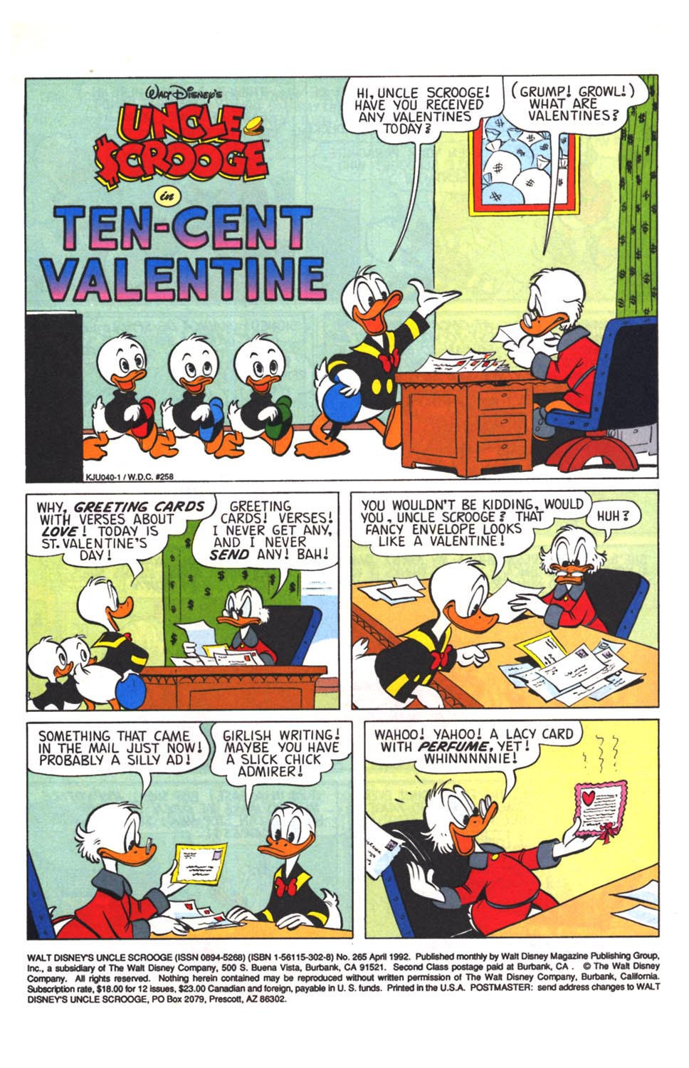 Read online Uncle Scrooge (1953) comic -  Issue #265 - 2
