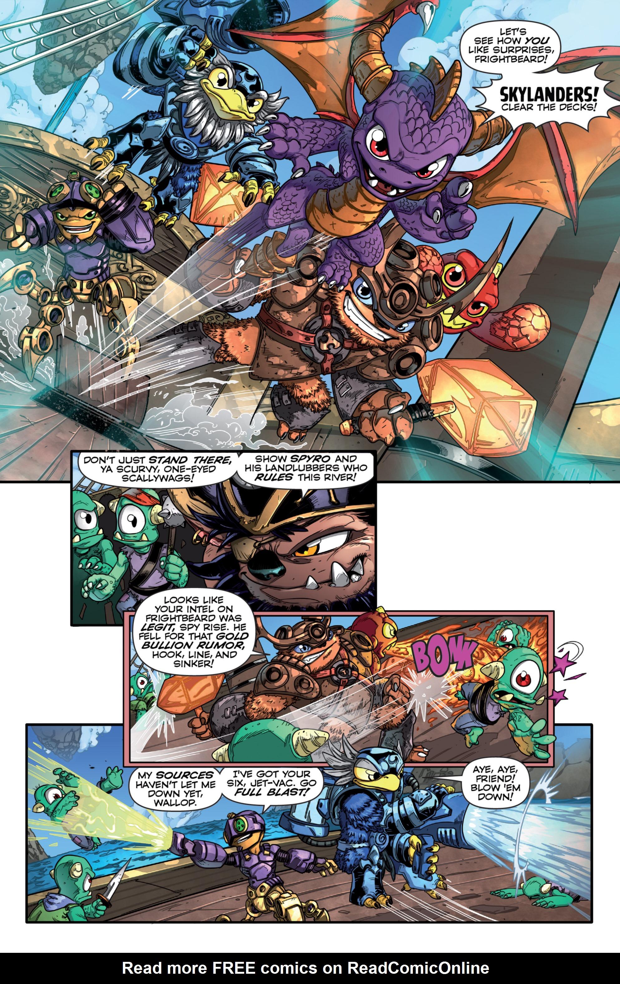 Read online Skylanders comic -  Issue #7 - 6
