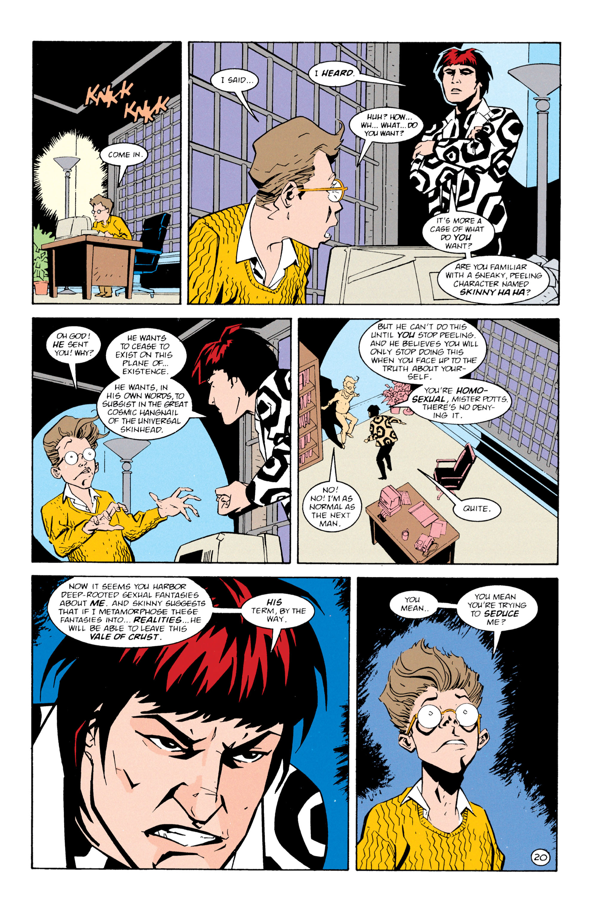 Read online Shade, the Changing Man comic -  Issue #61 - 21