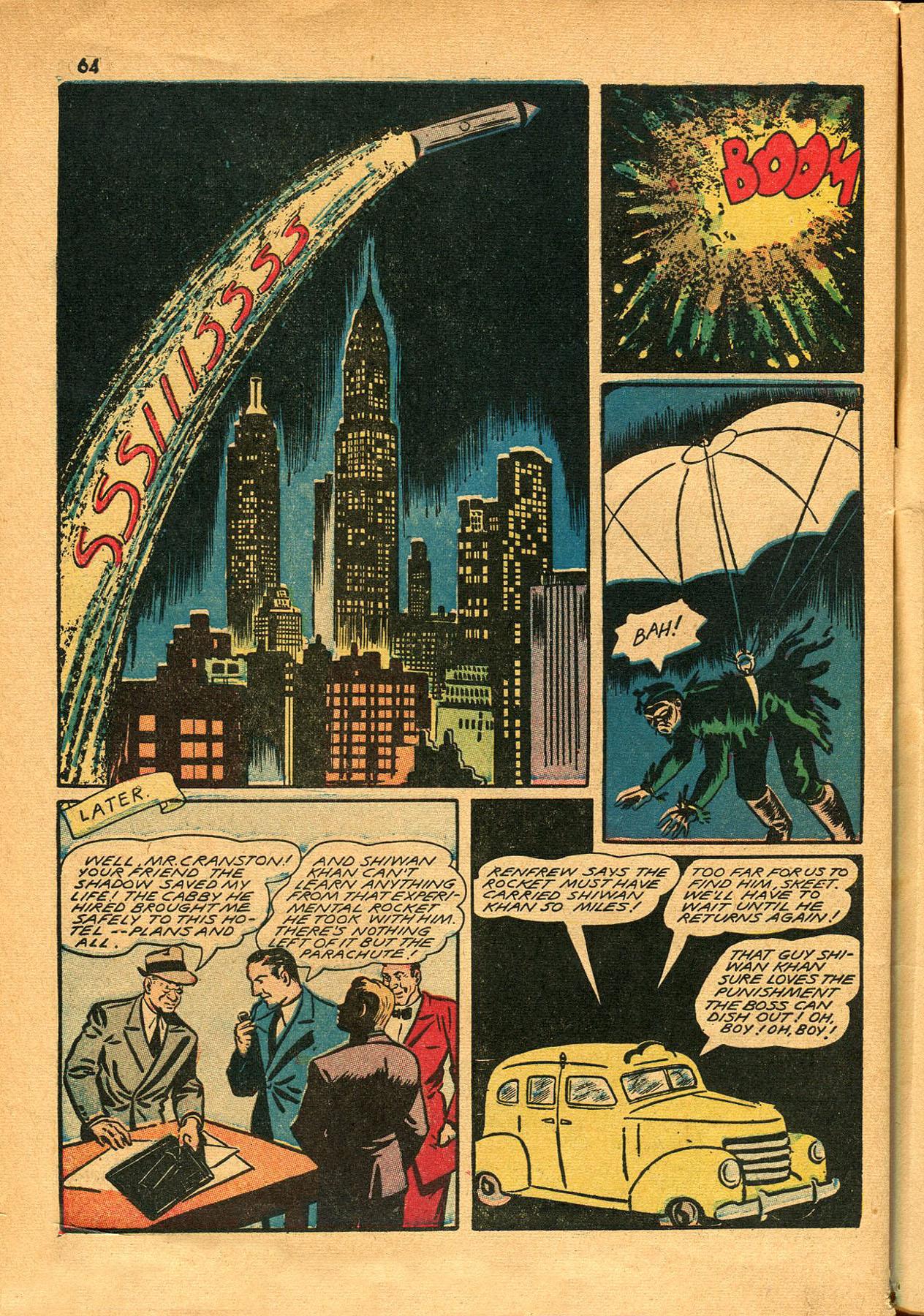 Read online Shadow Comics comic -  Issue #23 - 64