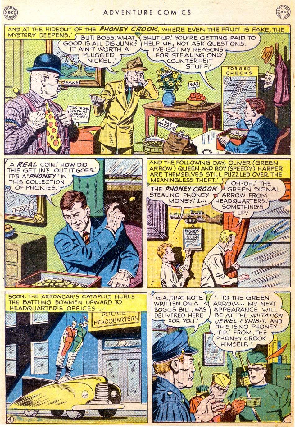 Read online Adventure Comics (1938) comic -  Issue #144 - 16