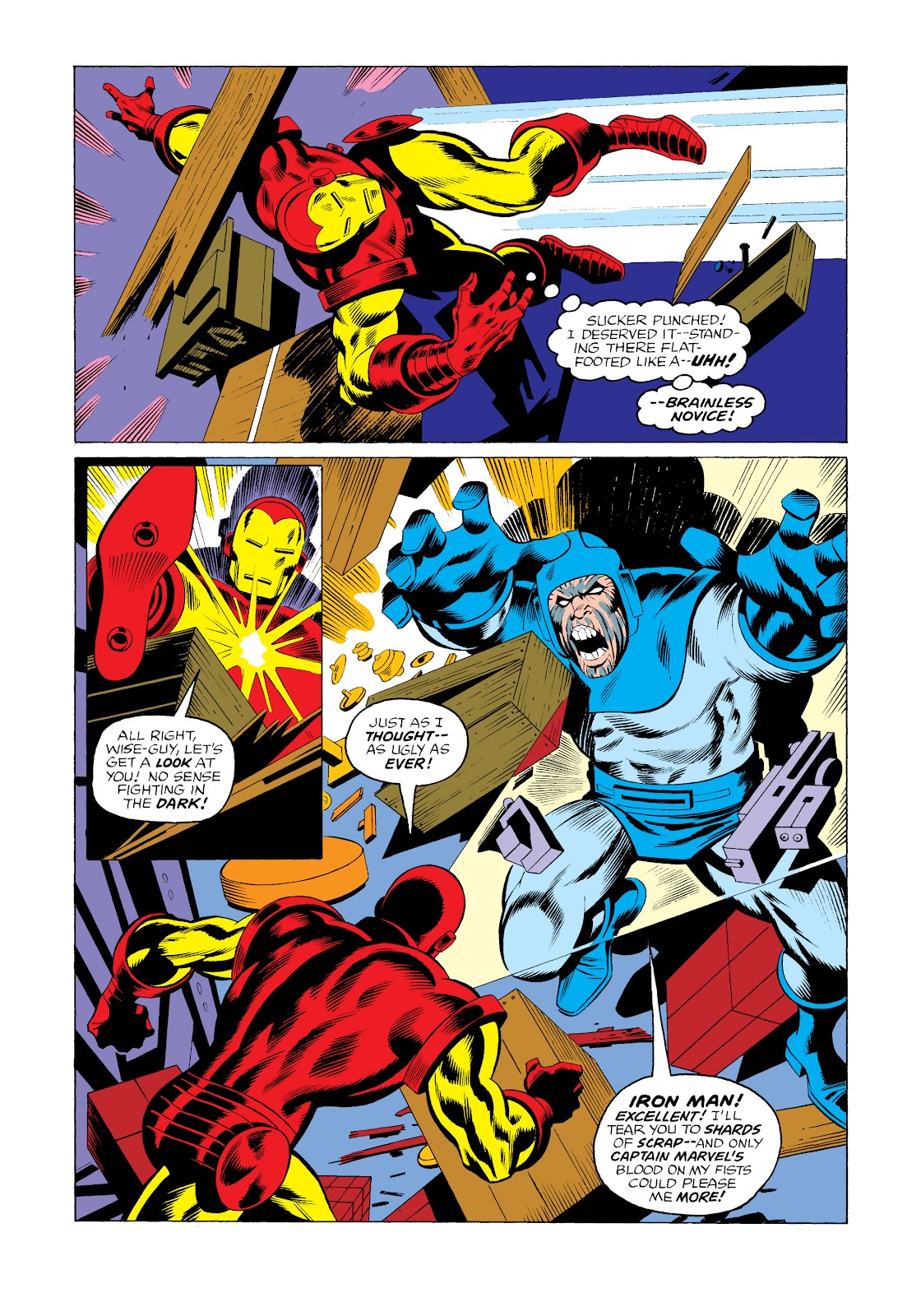 Read online Marvel Masterworks: The Invincible Iron Man comic -  Issue # TPB 11 (Part 3) - 7