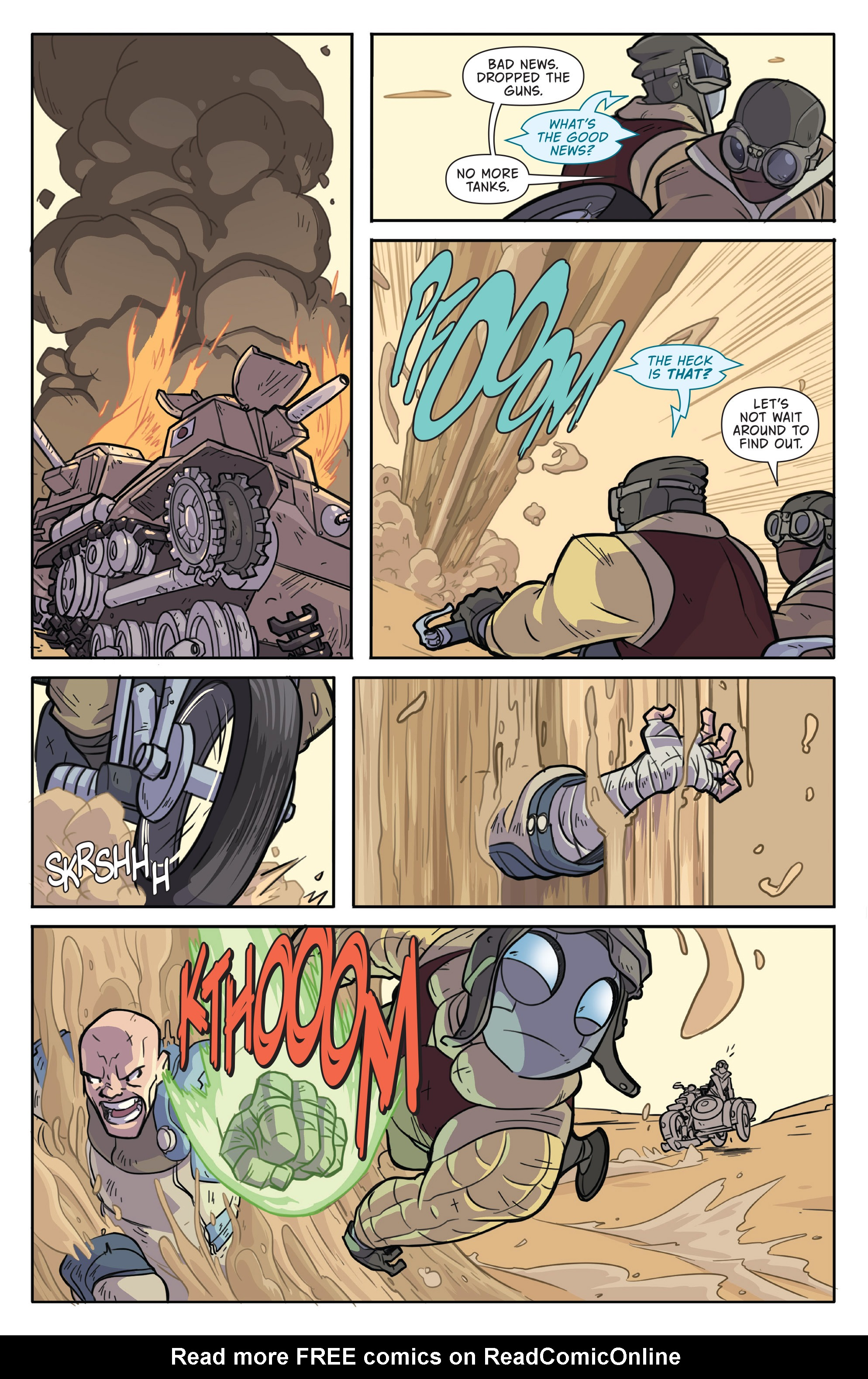 Read online Atomic Robo and the Temple of Od comic -  Issue #1 - 5