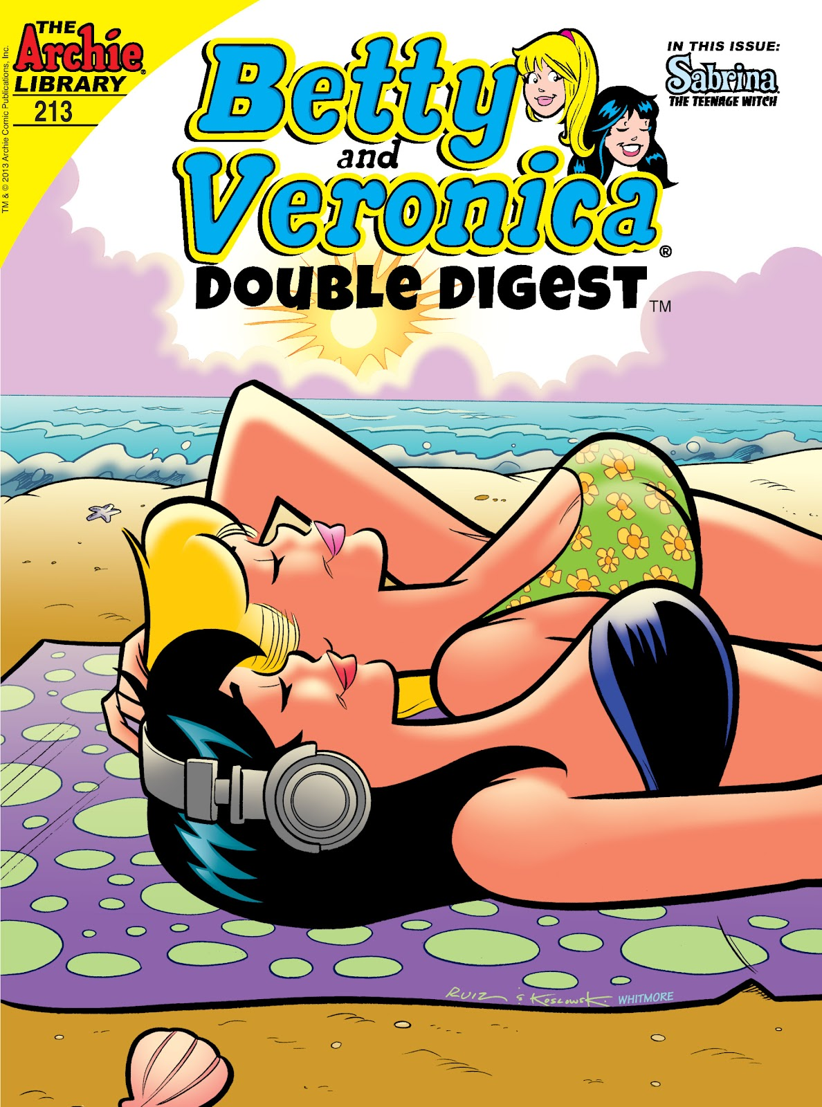 Betty and Veronica Double Digest 213 Page 1