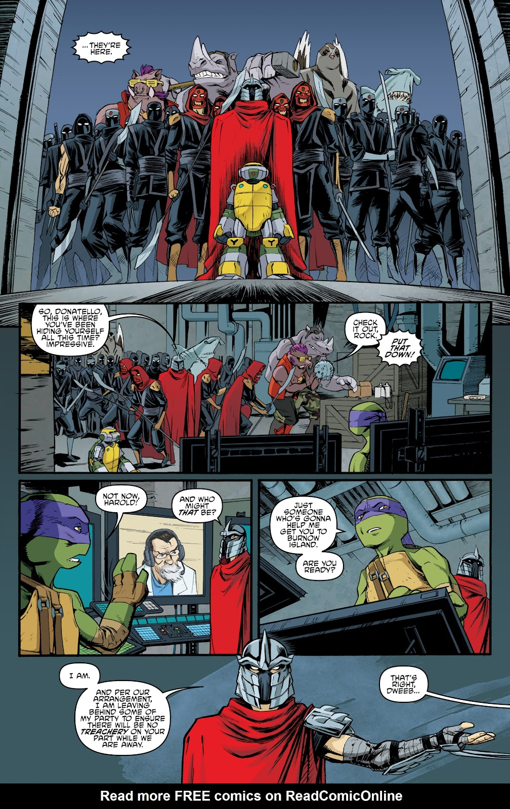 Read online Teenage Mutant Ninja Turtles: The IDW Collection comic -  Issue # TPB 5 (Part 3) - 97
