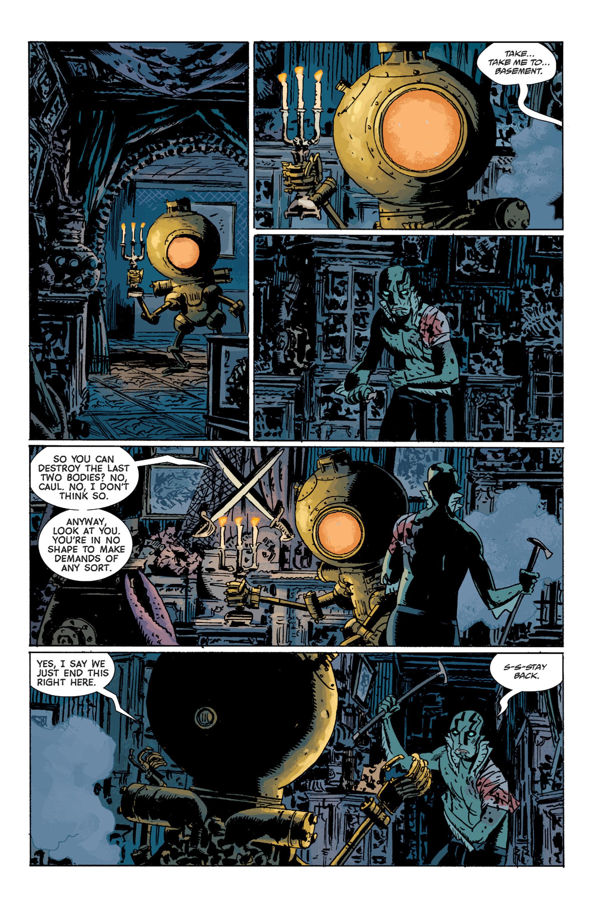 Read online B.P.R.D. (2003) comic -  Issue # TPB 7 - 128