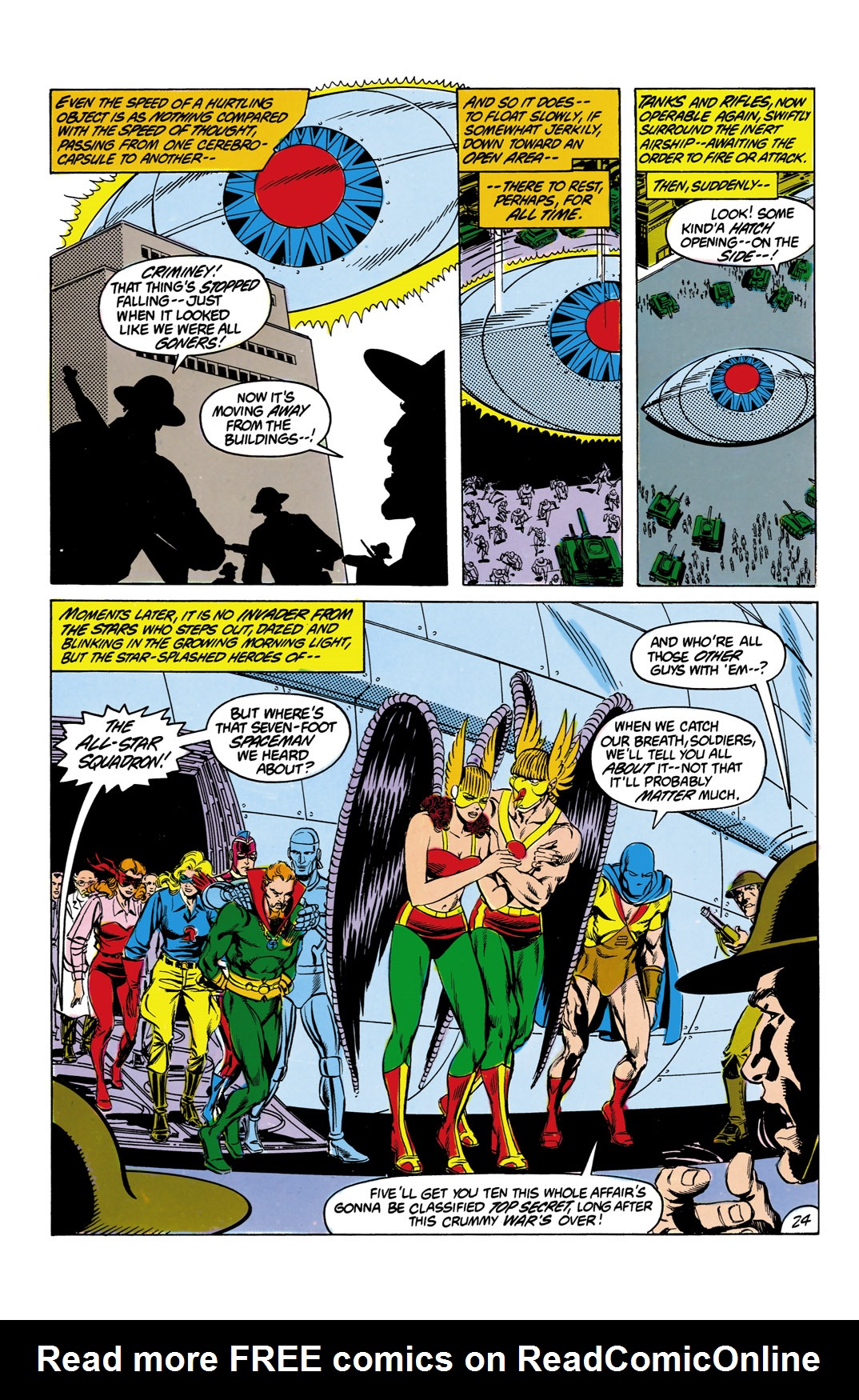 Read online All-Star Squadron comic -  Issue #12 - 25