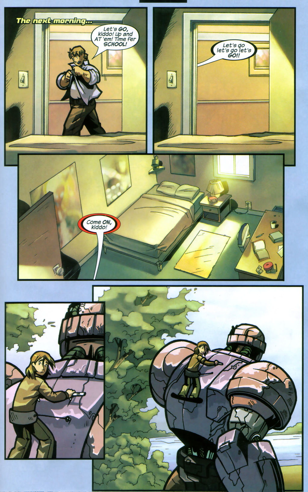 Read online Sentinel comic -  Issue #12 - 22